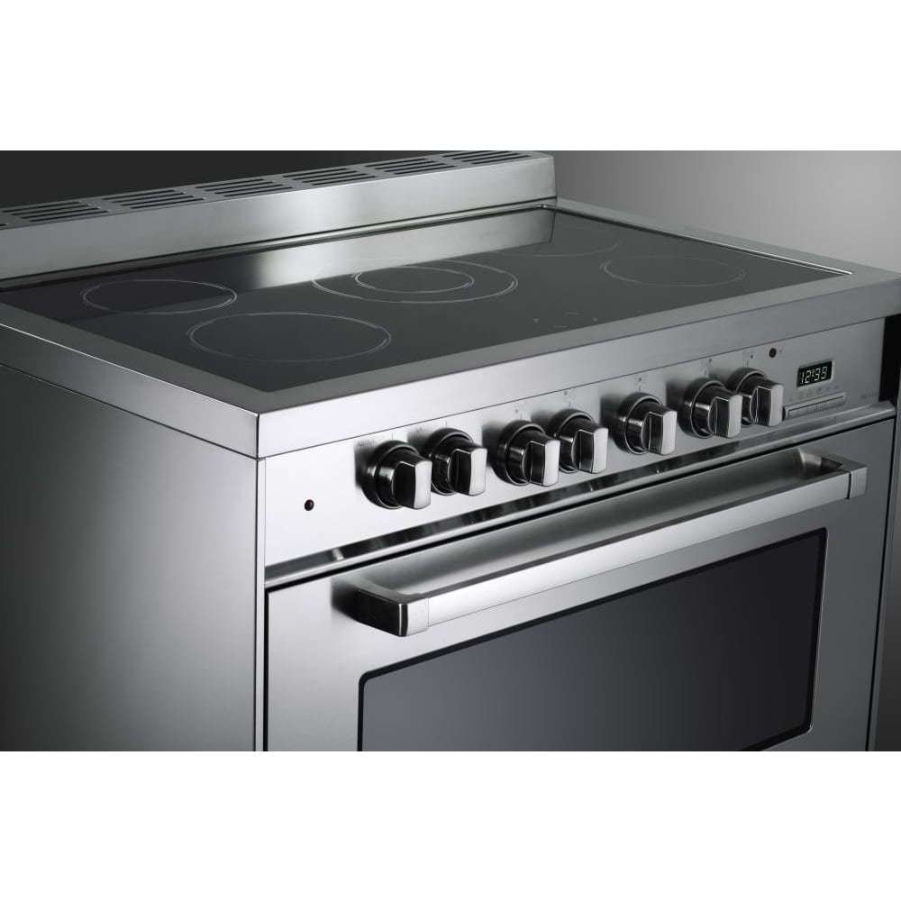 36 Electric Range >> Verona Vefsee365ss 36 Inch Freestanding Electric Range