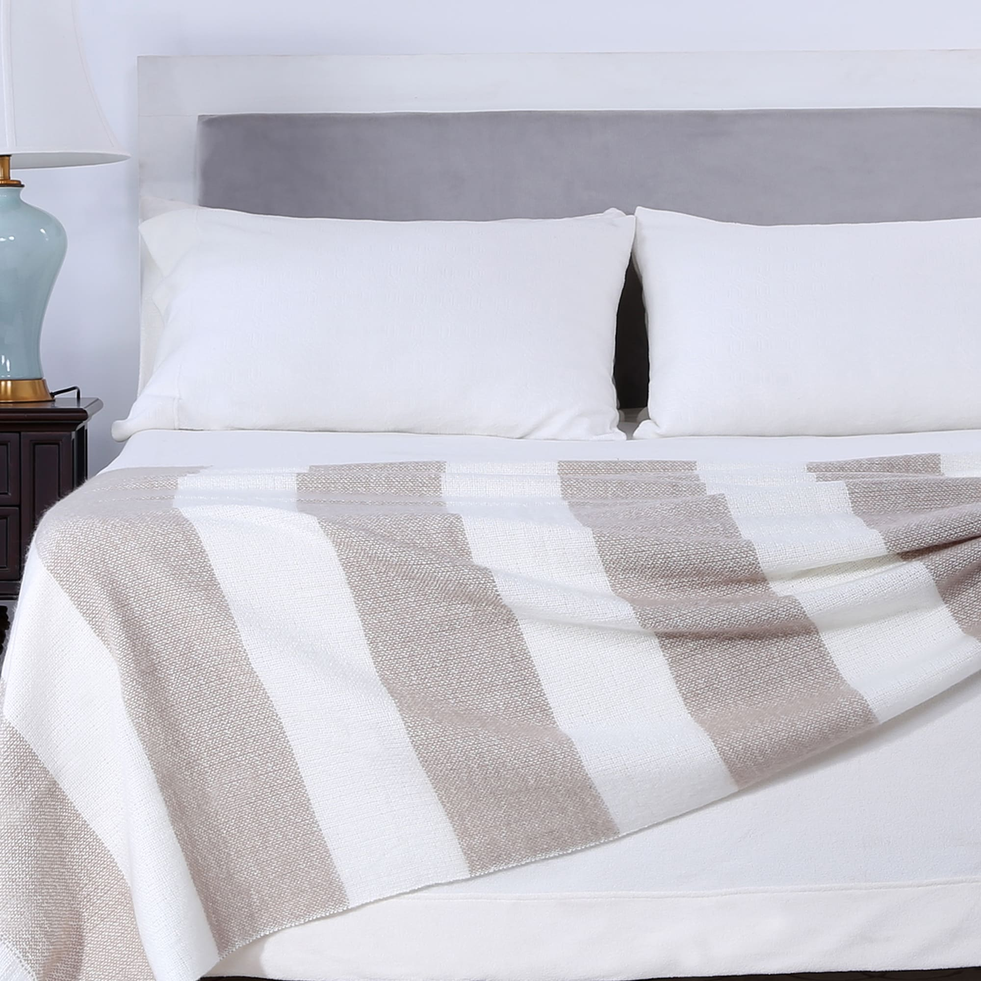 1864266a43 Shop Berkshire Blanket Nautical Striped Woven Throw - Free Shipping On  Orders Over  45 - Overstock - 16201253