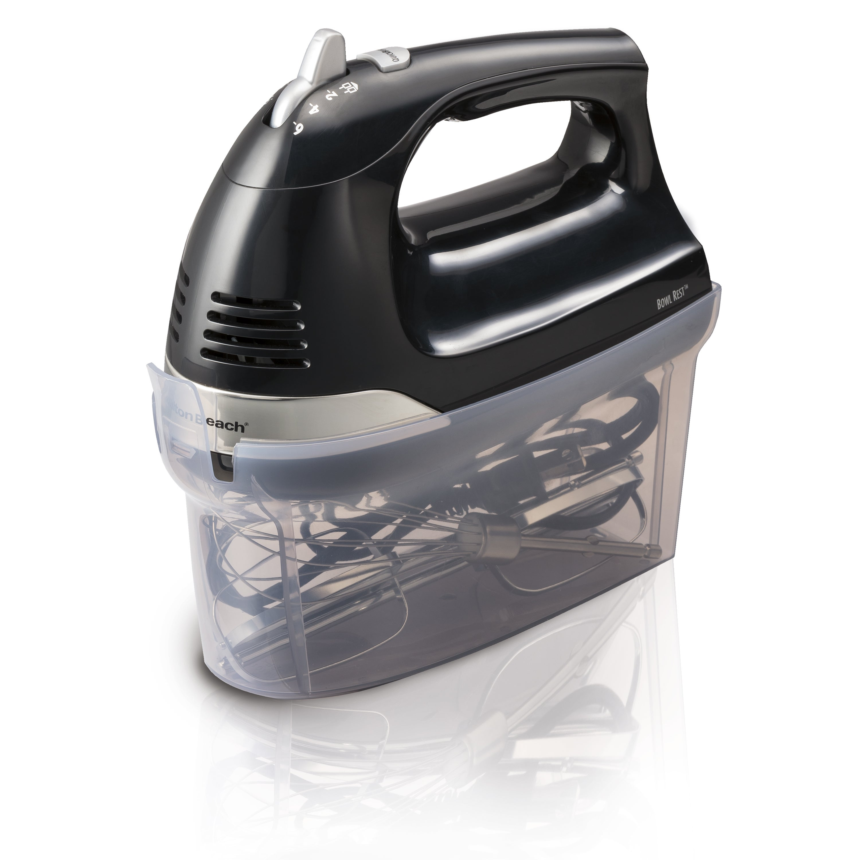 Shop Hamilton Beach Black 6 Speed Hand Mixer With Snap On Case Of Snapon Perfect For Small To Medium Cleaning Jobs The Free Shipping Orders Over 45 16201371