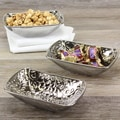 Pampa Bay Titanium Porcelain Snack Bowl Set
