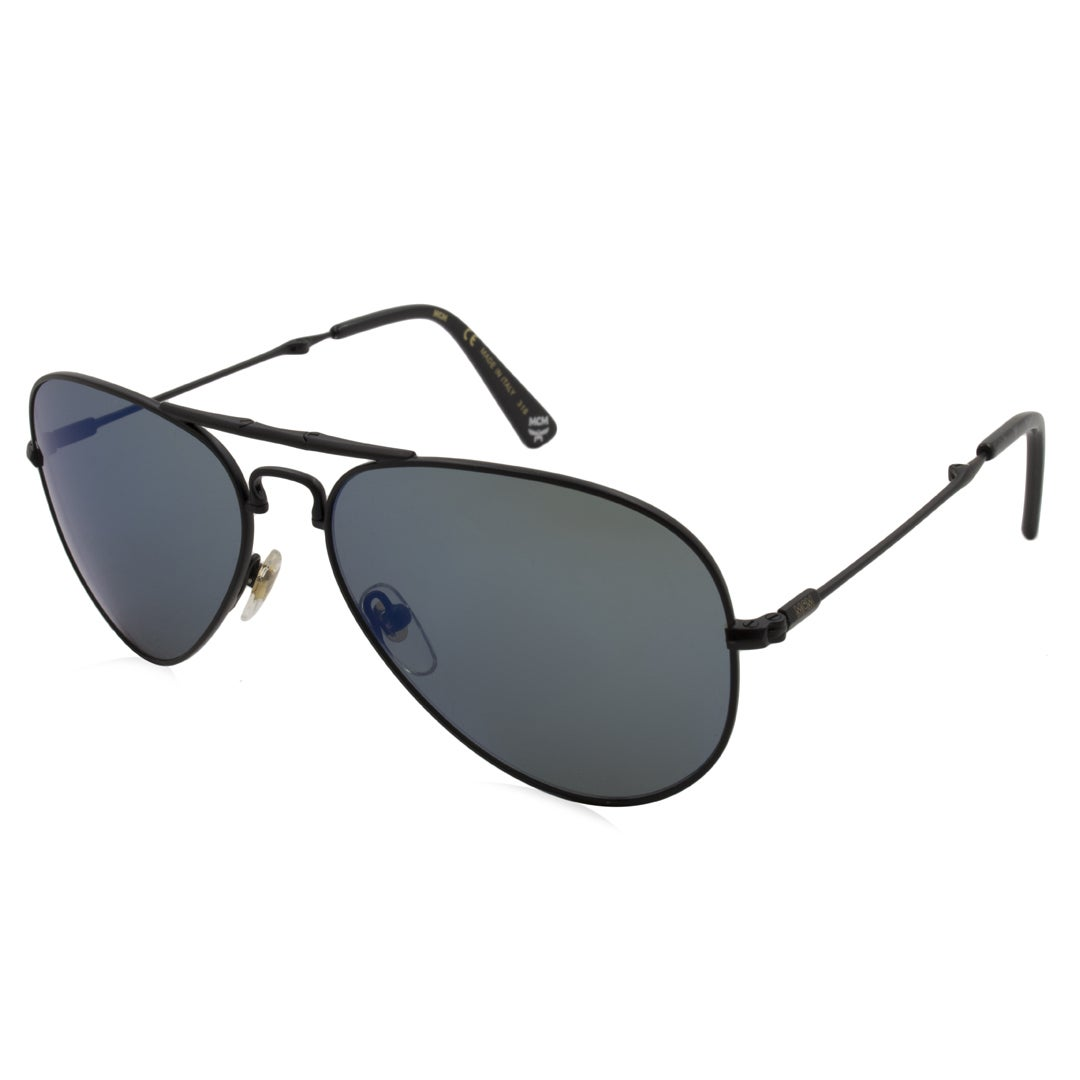 ecc877dd022 MCM Women s Sunglasses - MCM101S Frame  Matte Black Lens  Blue Gradient -  Free Shipping Today - Overstock.com - 22640815