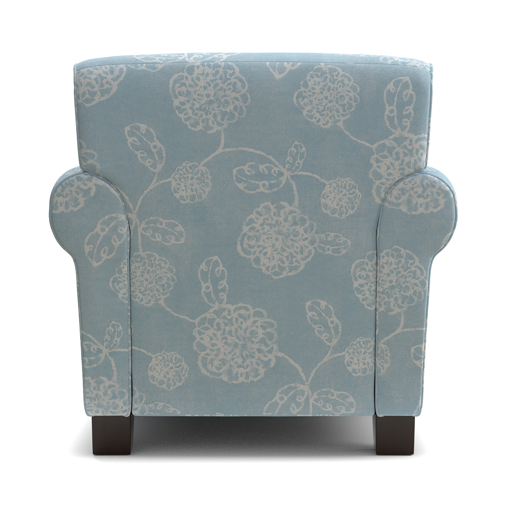Handy Living Winnetka Blue Floral Arm Chair And Ottoman Set   Free Shipping  Today   Overstock   22642268