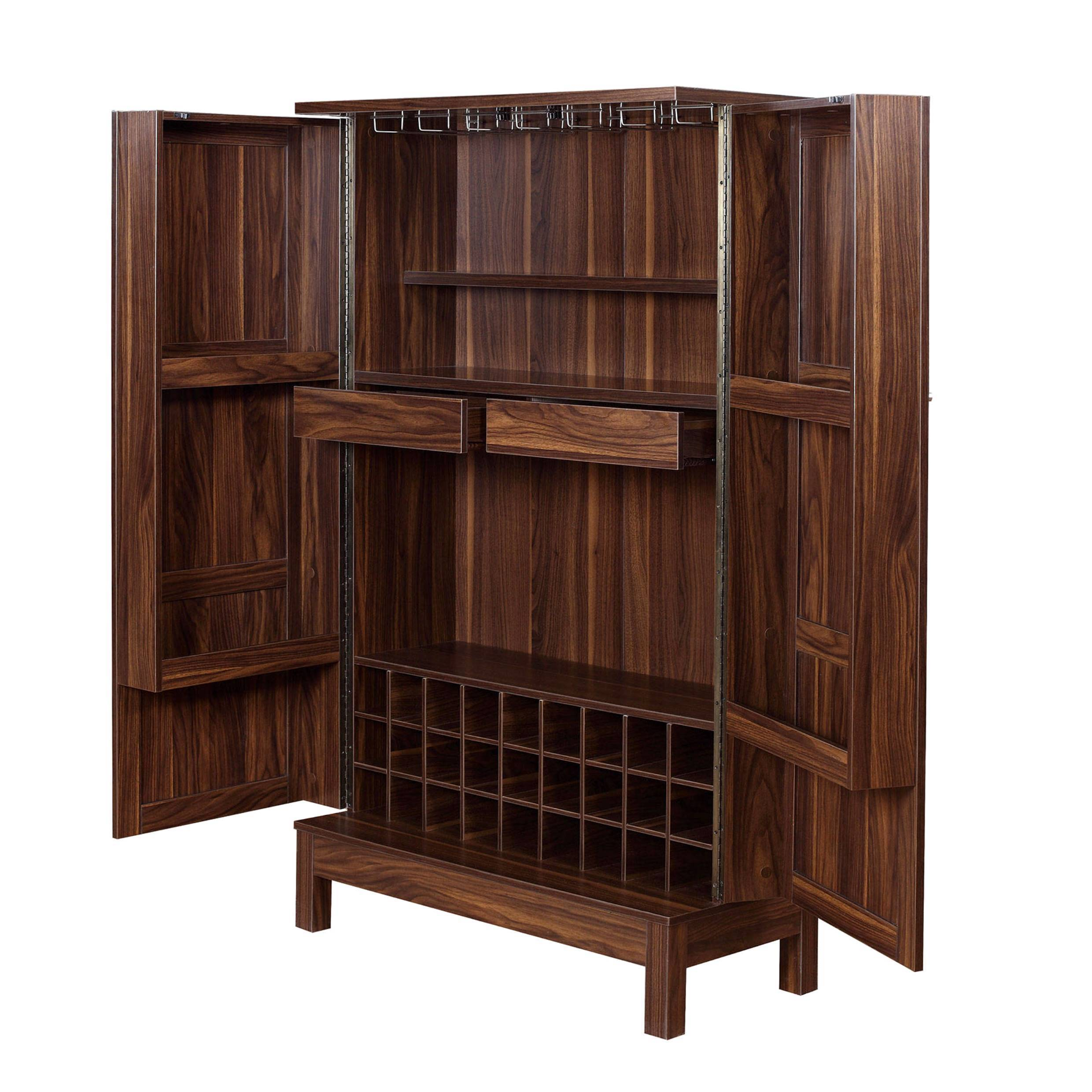 Exceptionnel Wine Storage Bar Armoire Cabinet   Free Shipping Today   Overstock.com    22643812