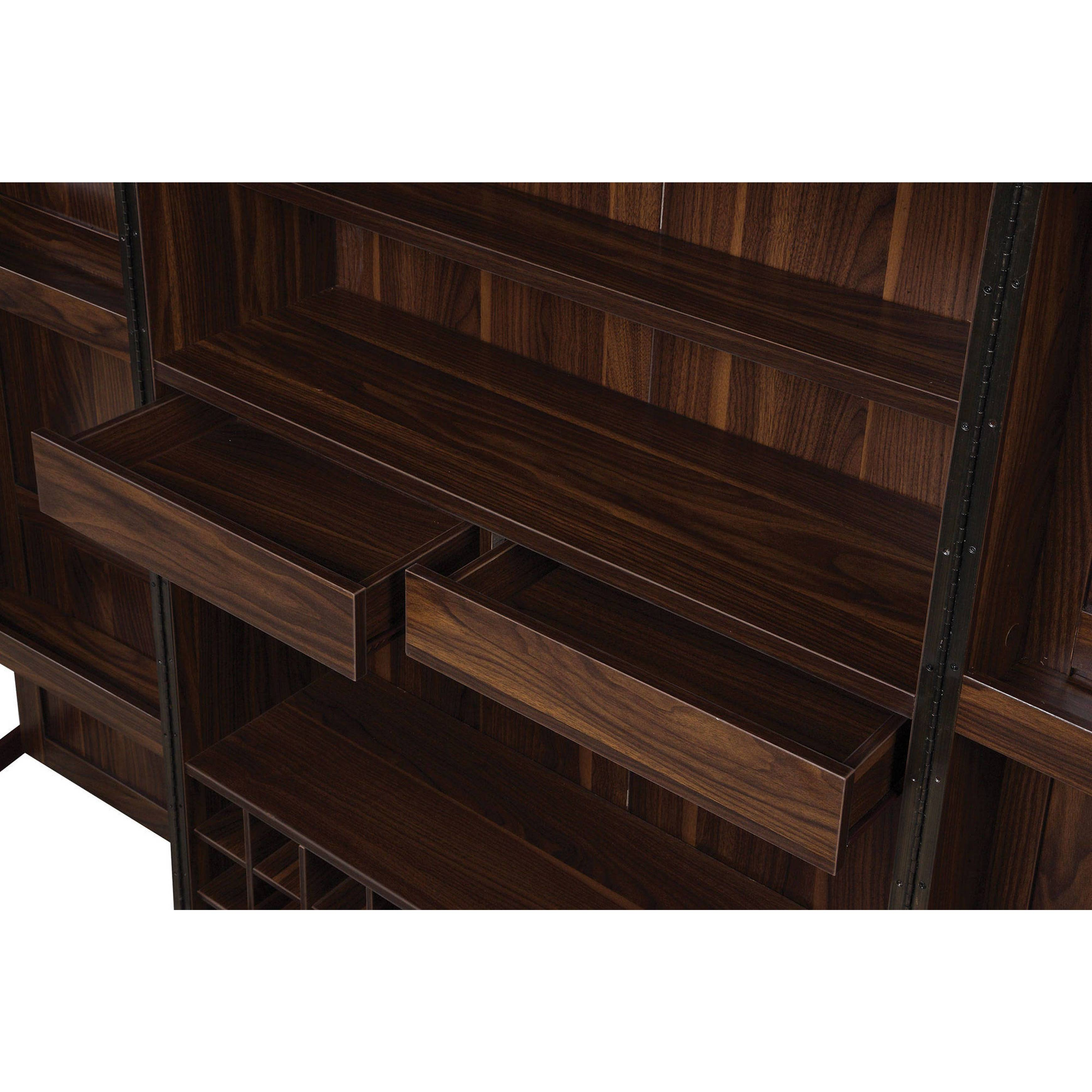 Shop Wine Storage Bar Armoire Cabinet   Free Shipping Today   Overstock.com    16280766