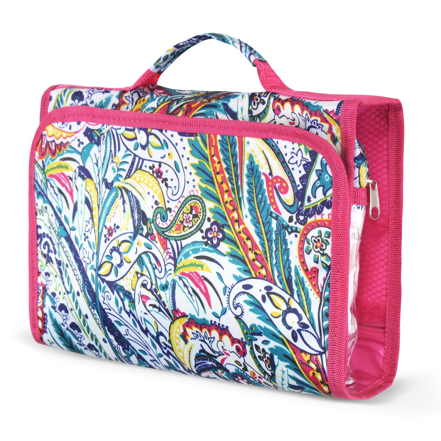 Shop Zodaca Paisley Travel Hanging Cosmetic Toiletry Carry Bag Wash ...
