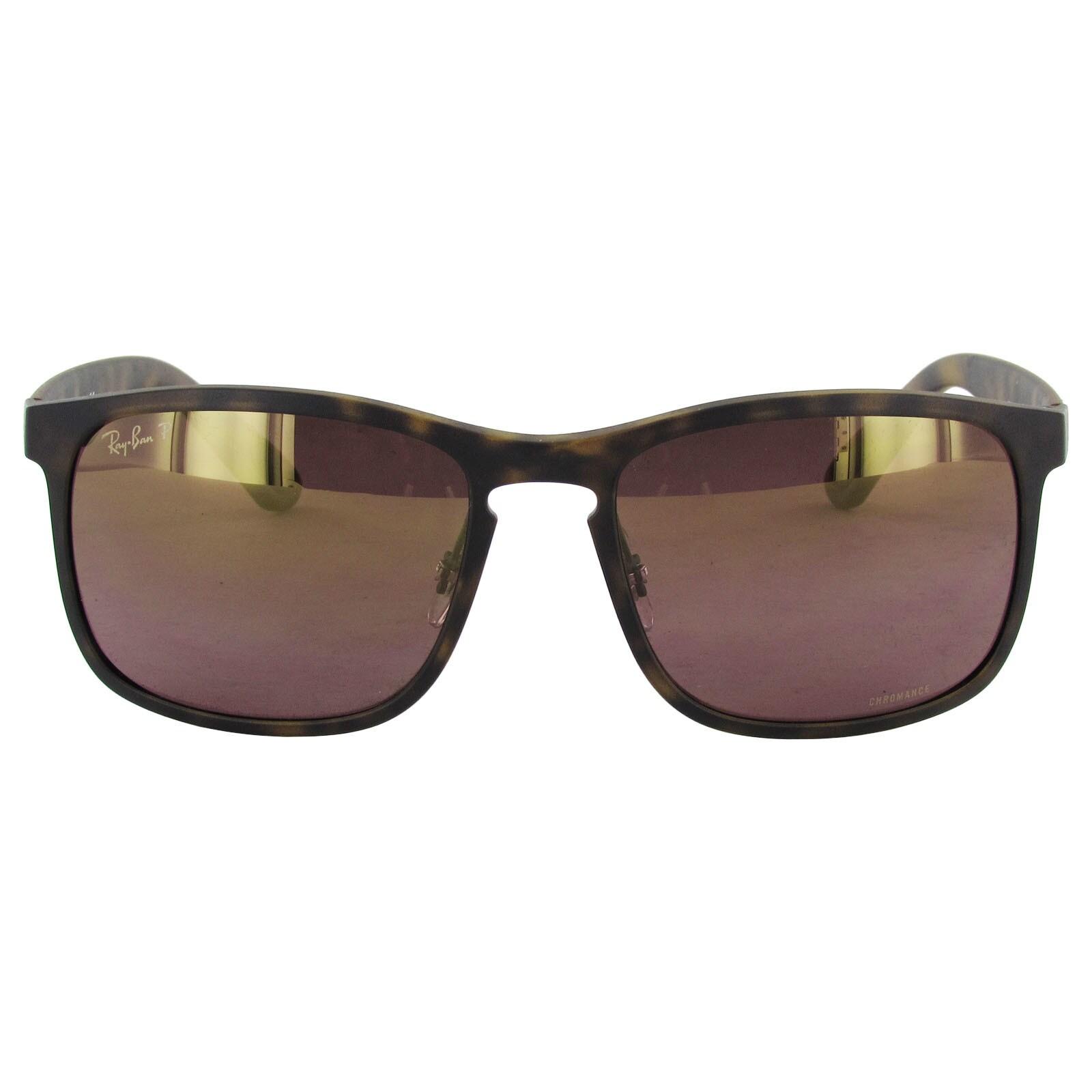 36696e642da Shop Ray-Ban Chromance RB4264 Mens Tortoise Frame Purple Mirror Polarized  Lens Sunglasses - Free Shipping Today - Overstock - 16288336
