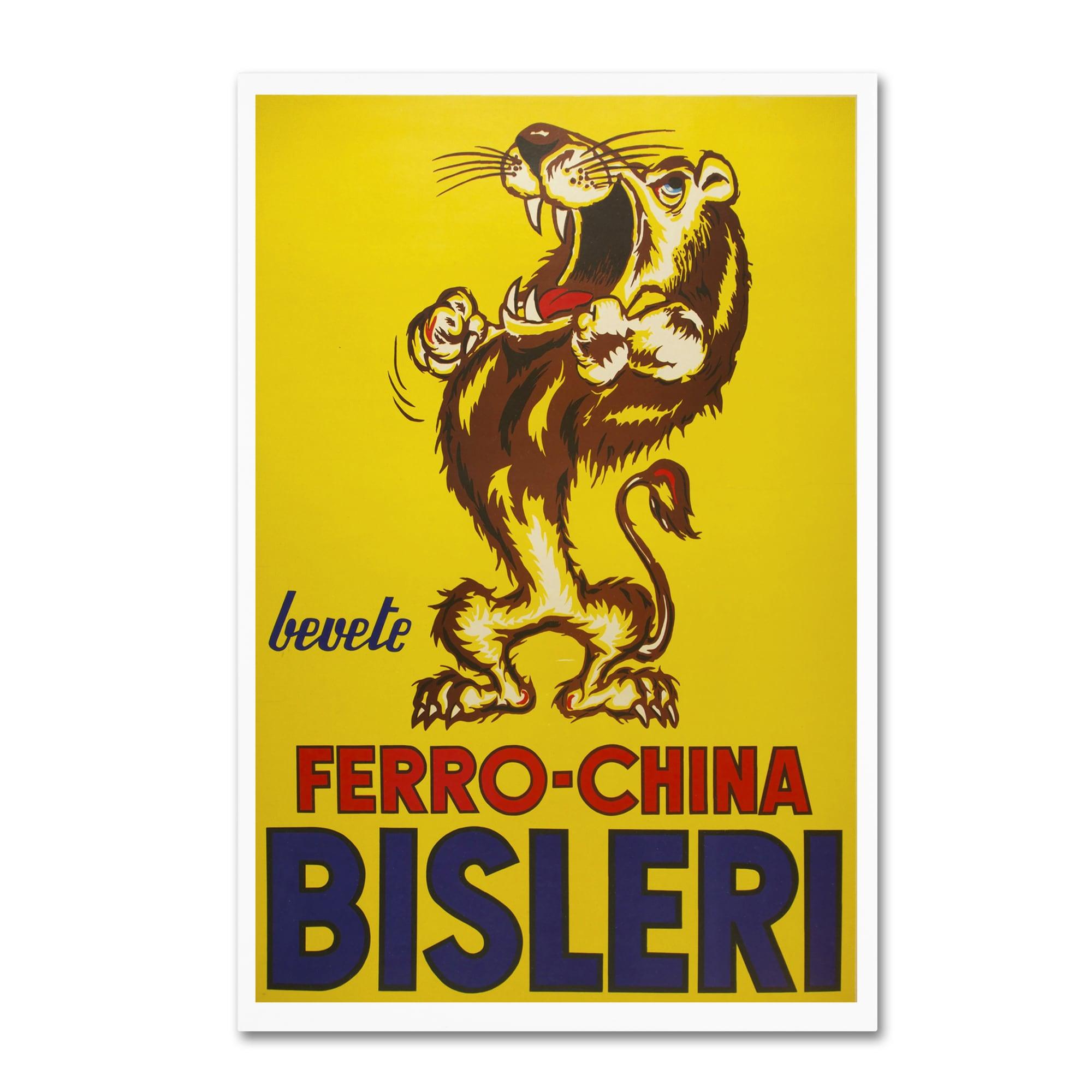 Shop Vintage Apple Collection \'Bisleri Whiskey\' Canvas Art - On Sale ...