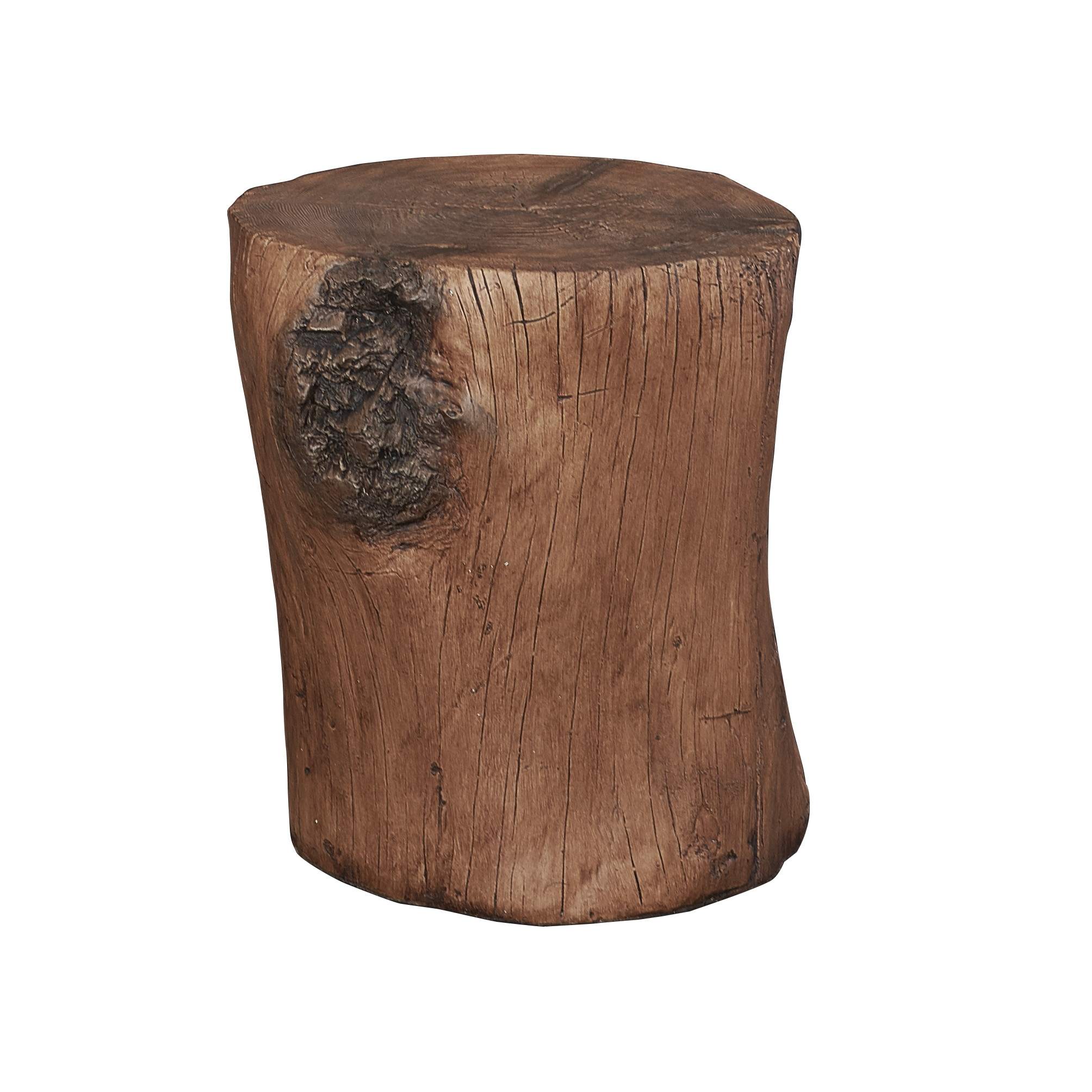 Hunter Tree Stump Accent Table Free Shipping Today 16303805