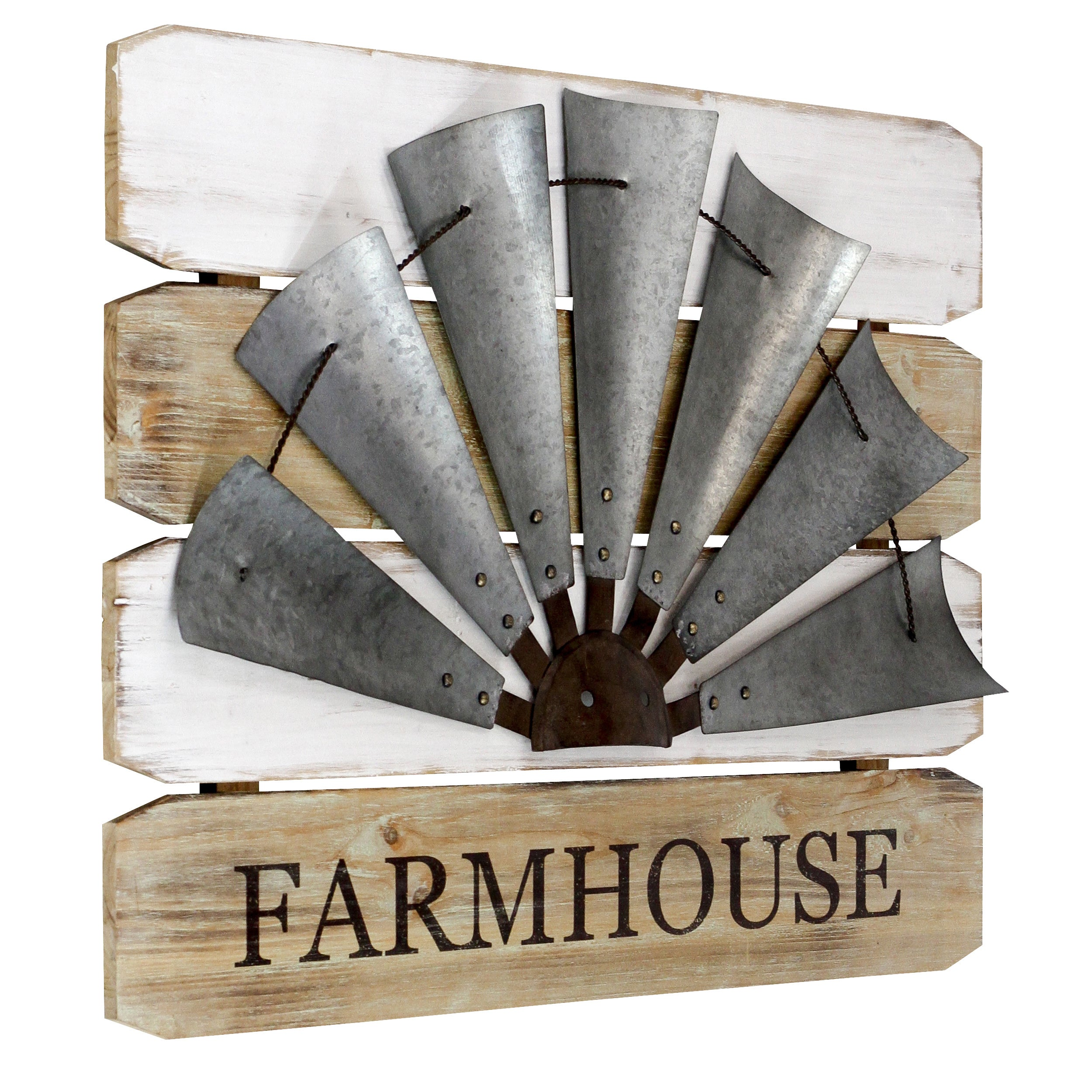Farmhouse Windmill Wall Sign Free Shipping Today Overstock