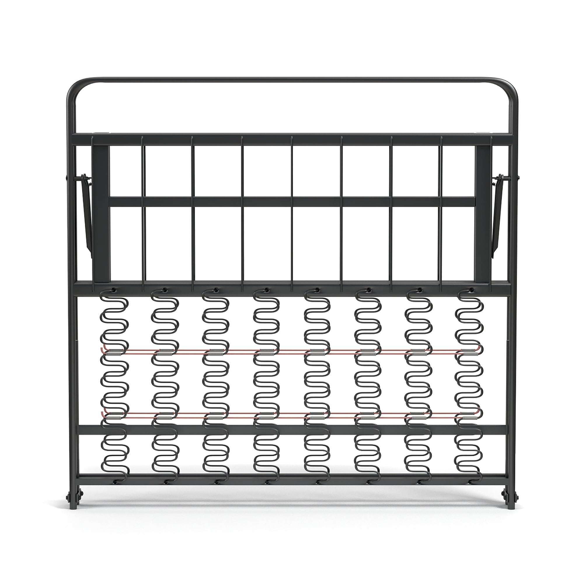 shop handy living xl twin foldable metal bed frame on sale free