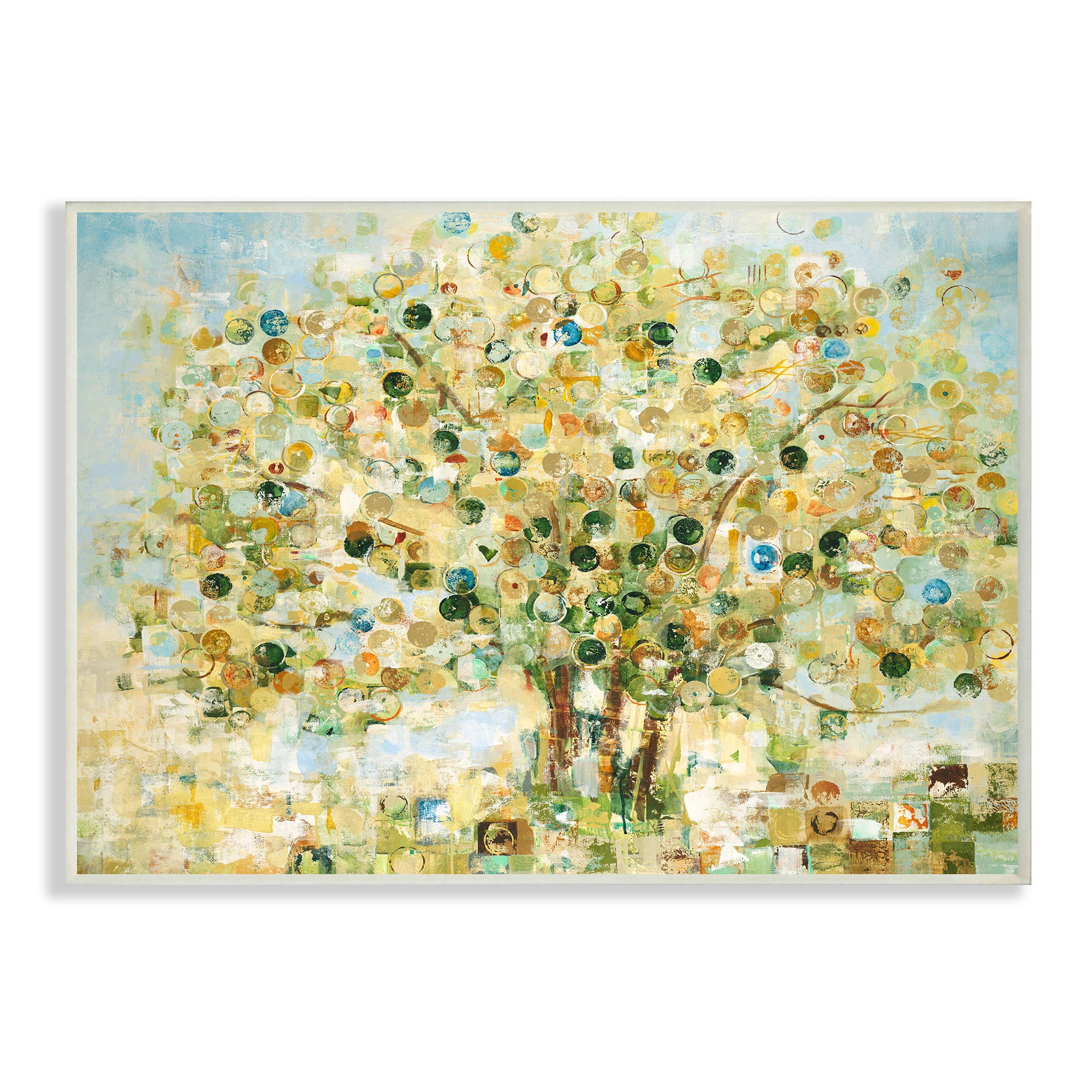 Shop Abstract Apple Tree Wall Plaque Art - 12 x 12 - On Sale - Free ...