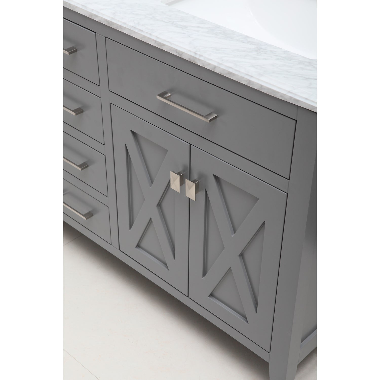 Shop Inch Belvedere Traditional Freestanding Grey Bathroom Vanity - Freestanding 36 inch bathroom vanity