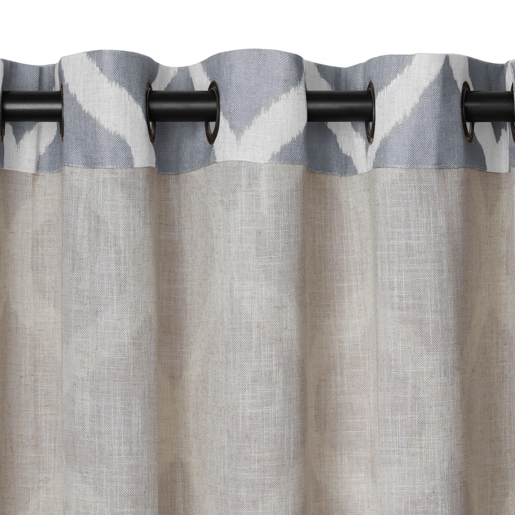 design services spring title valance crest edmonton grommet draperies