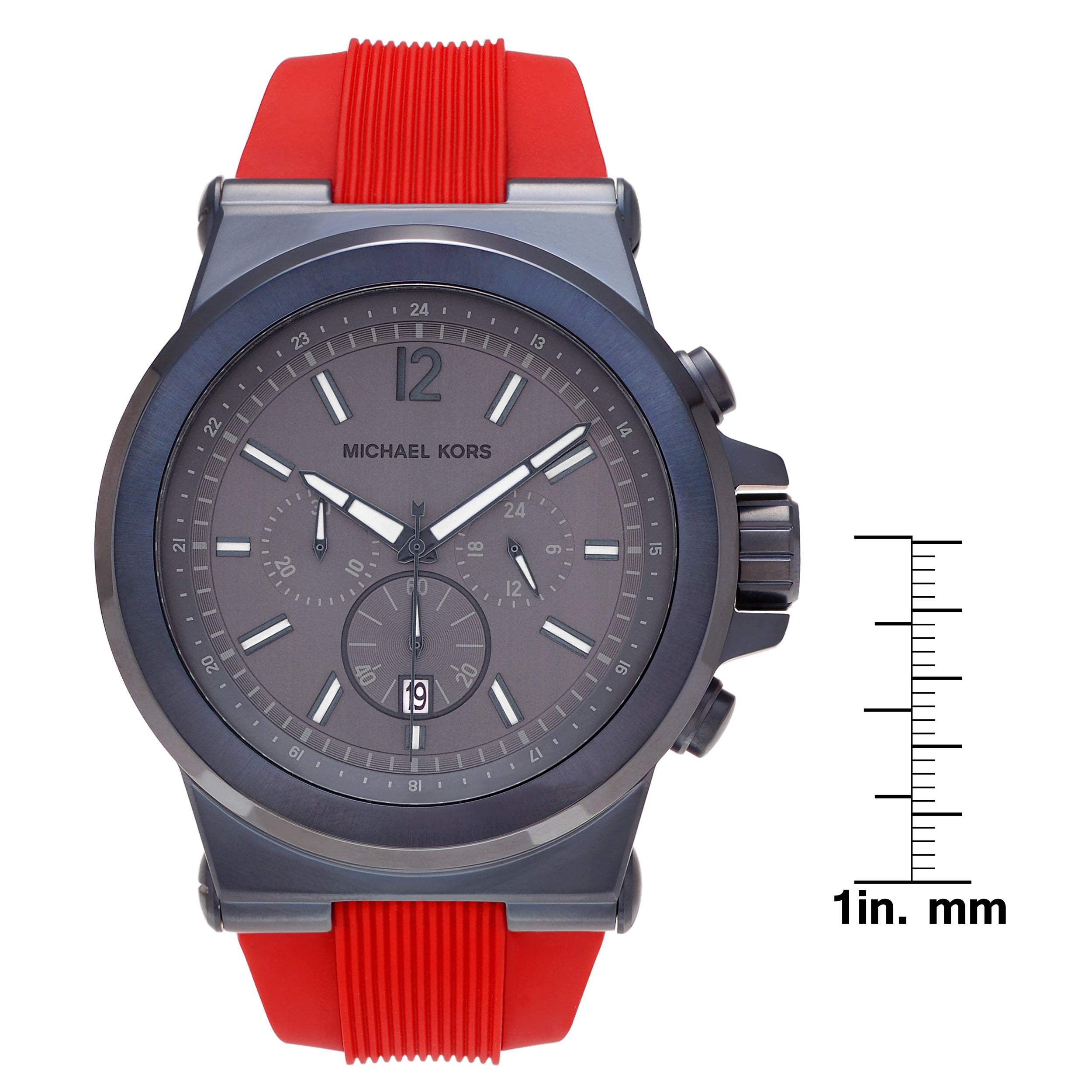 quartz with mens movement real and silicone reactor gryphon dial strap watches rubber camouflage tree watch
