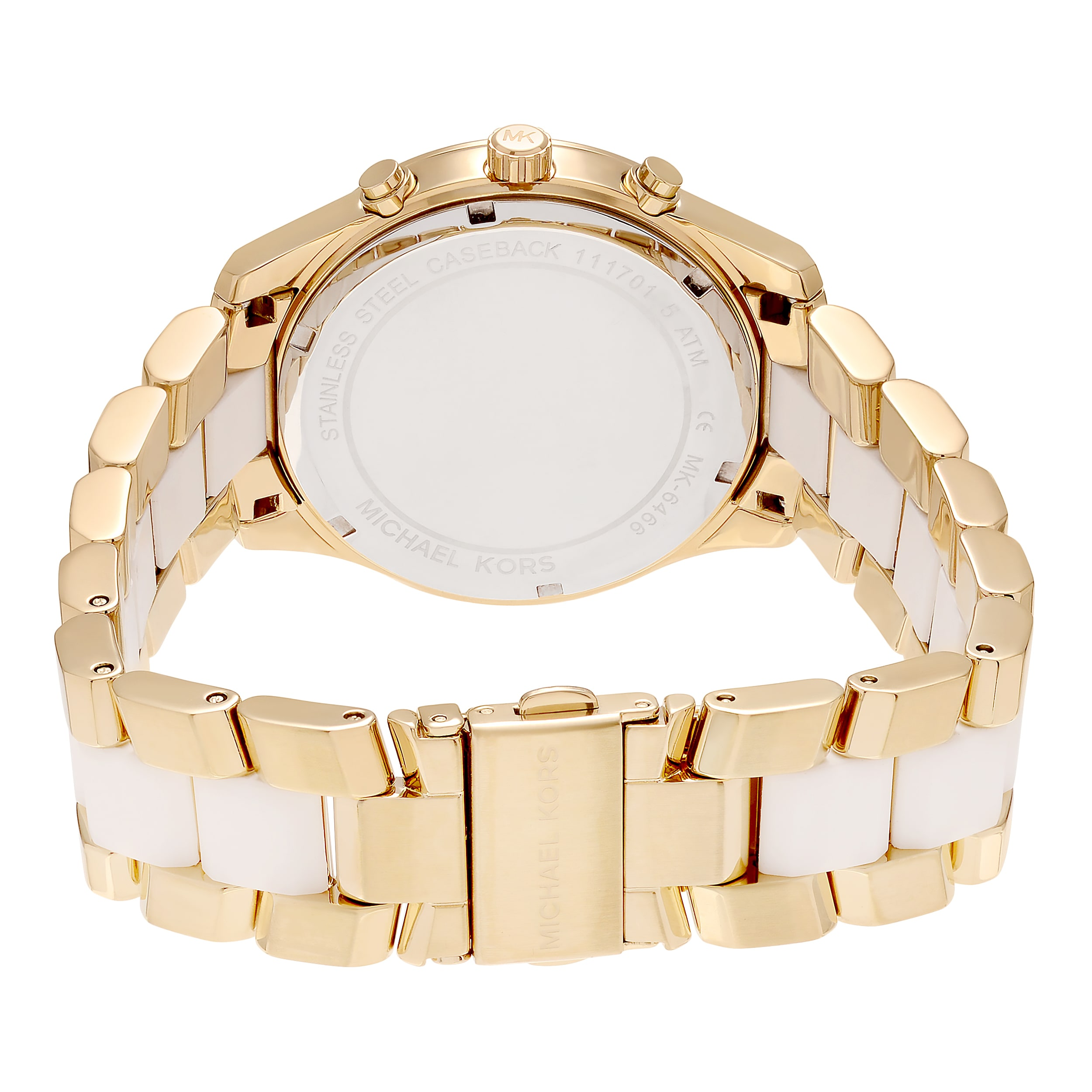 3ec852bca129 Shop Michael Kors Women s MK6466  Briar  Goldtone Stainless Steel  Multifunction Dial Link Bracelet Watch - Free Shipping Today - Overstock -  16306357