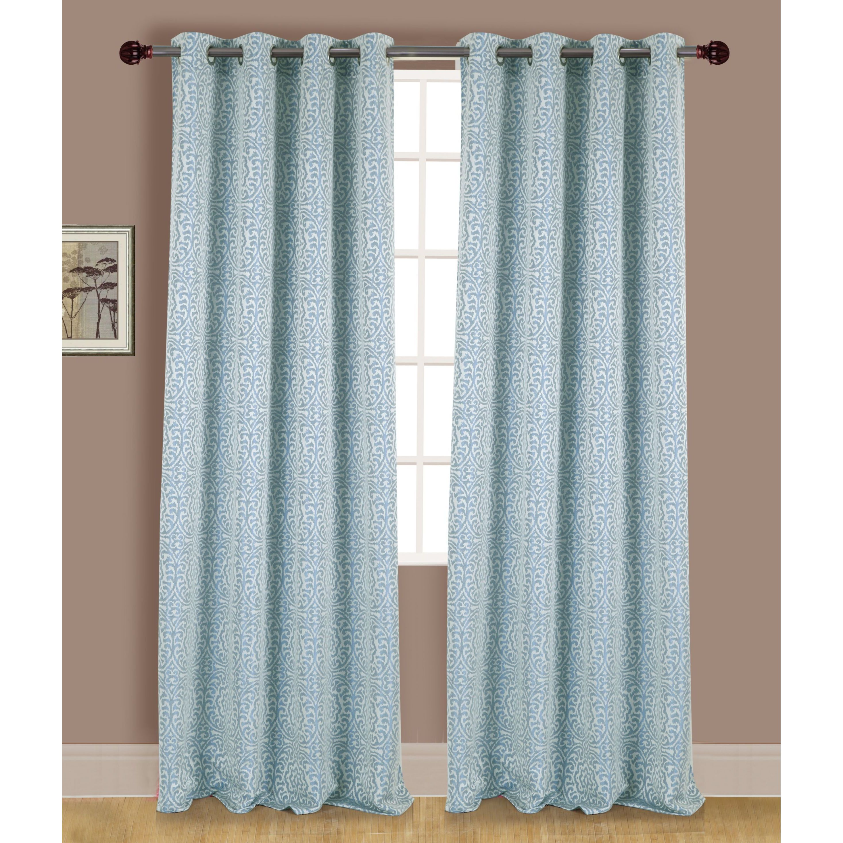 top ready chambray slx made styleline ring dollclique daytona blackout curtains ideas denim curtain source express eyelet com earth thermal