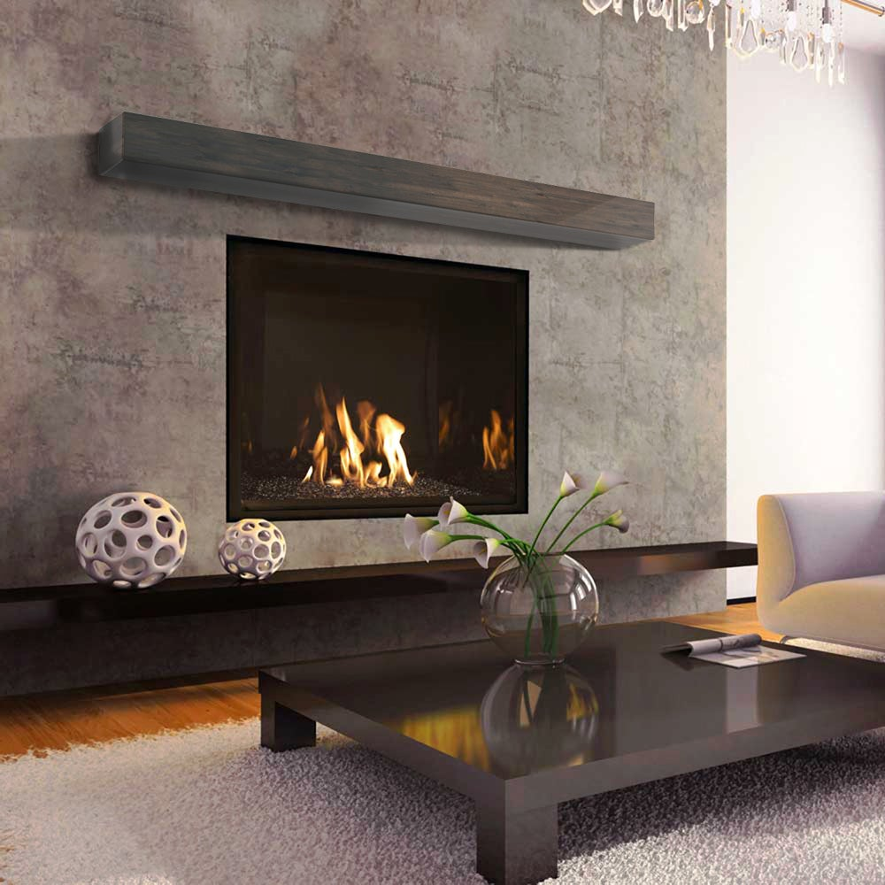 oak mantle winchester mantel shelf veneers solid