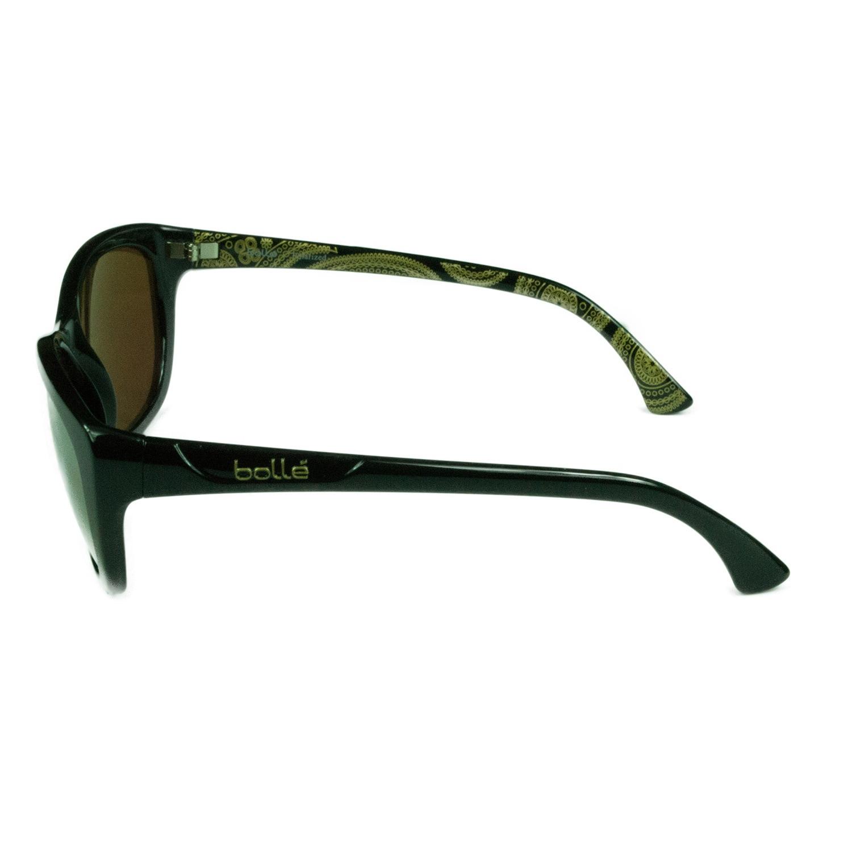 64f34271cdb Shop Bolle Sport Women s Greta 11952 Shiny Black w  Polarized AG-14  Mirrored Lens Sunglasses - Free Shipping Today - Overstock.com - 16327145