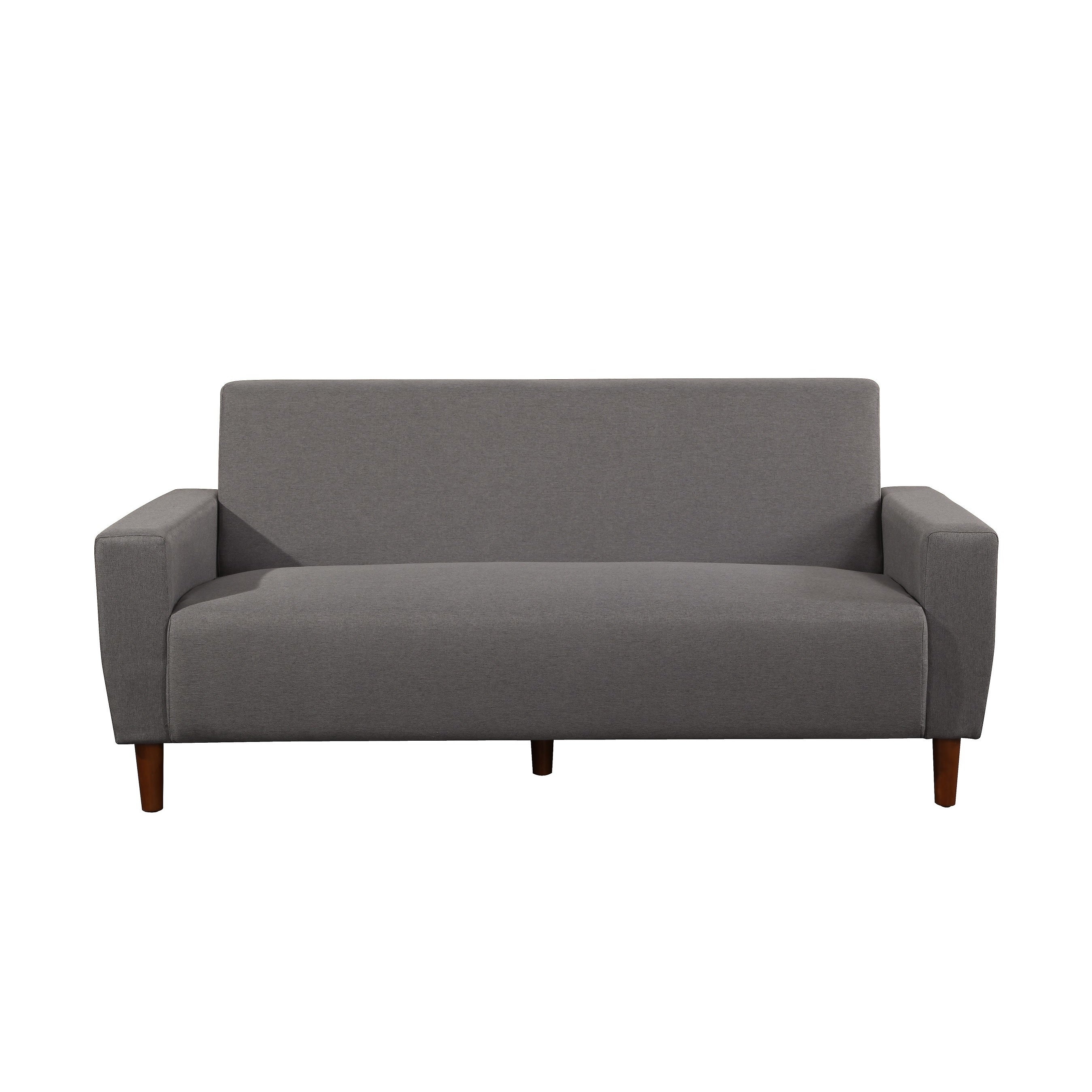 Shop ruth mid century linen fabric sofa on sale free shipping today overstock com 16340645