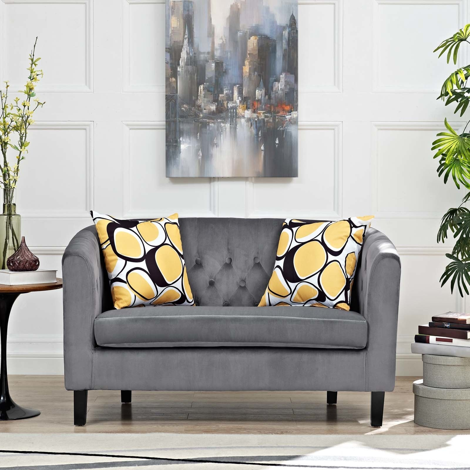 loveseat chaise lounge sale aubergine sofa room complete for mini living plum velvet your decor furniture grey warm and with sectional couches to purple