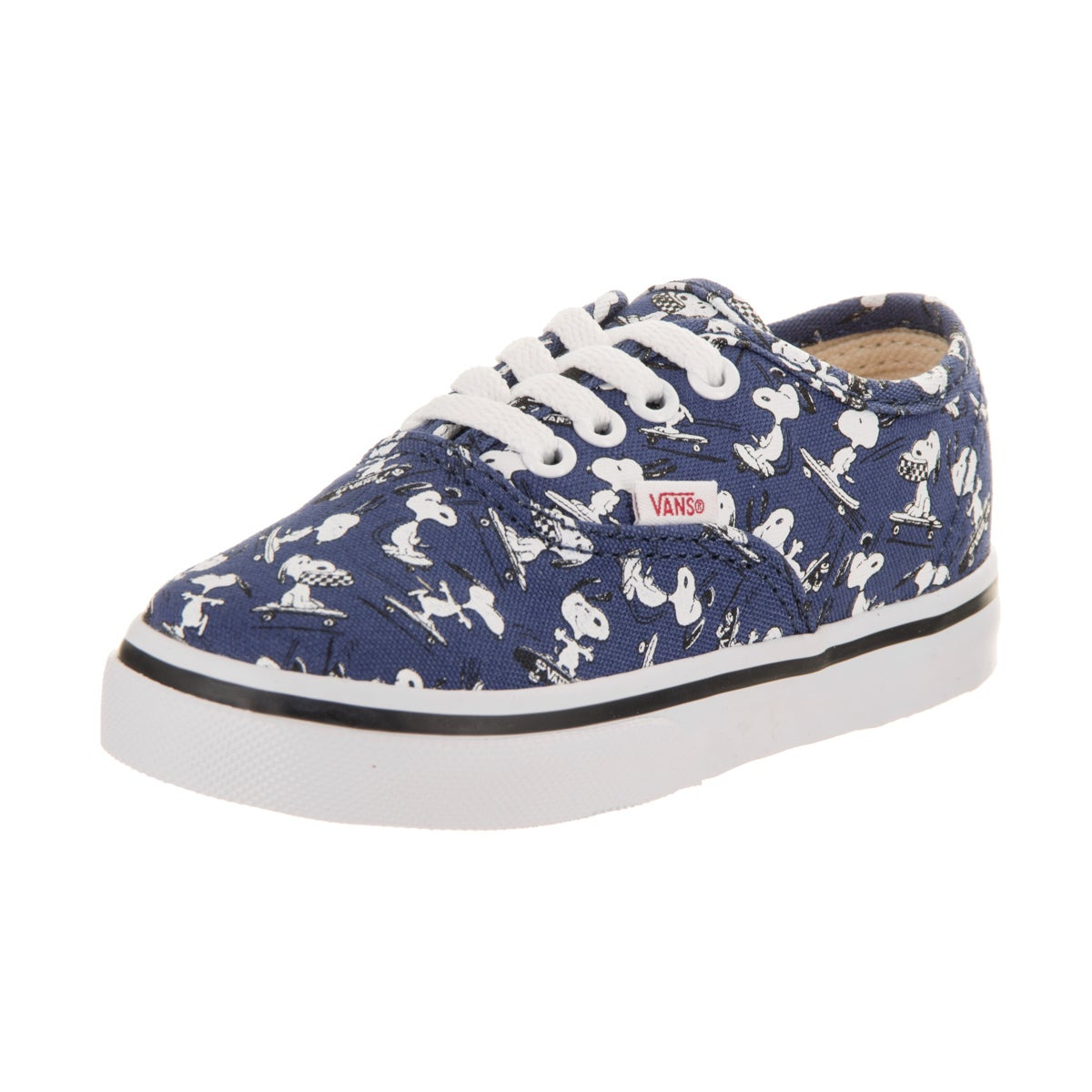 Vans Toddlers Authentic (Peanuts) Skate Shoe - Free Shipping On ... 5517dd0ff