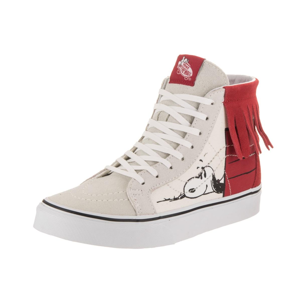 cb63021a91 Shop Vans Unisex Sk8-Hi Moc (Peanuts) Skate Shoe - Free Shipping Today -  Overstock - 16342803
