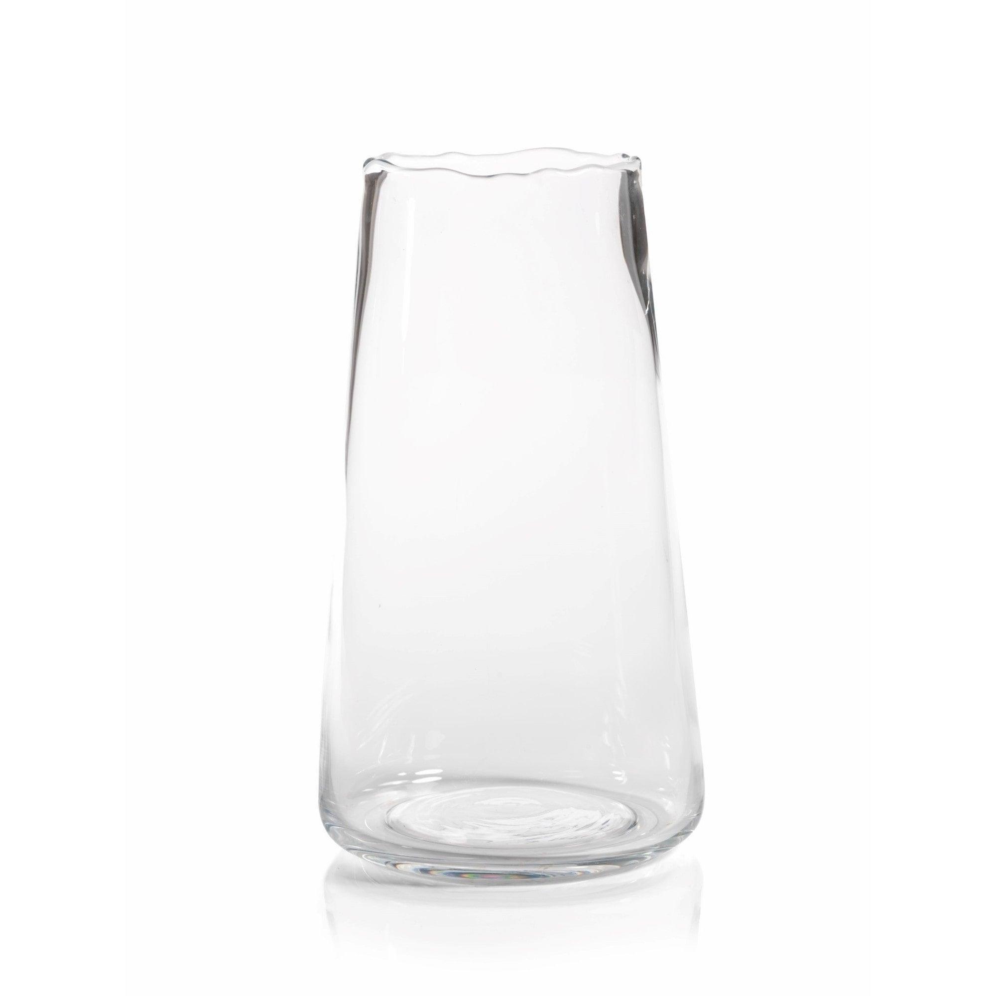 lsa s tall glass flower vase international stem heal clear