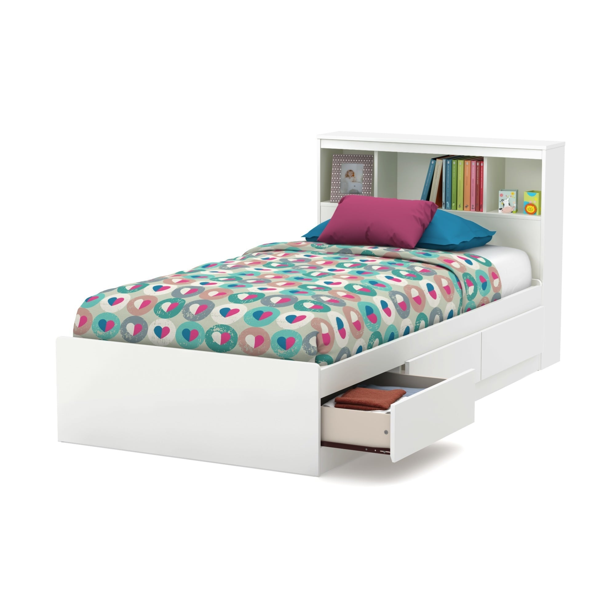 bookcase home pc zayley league amazing storage headboard fun lounge single frame com daybed ideas white of doors with full twin drawers bedhead ivy size platform trundle and tall improvement bobsrugby headboards side bookshelf queen bed russellbain beds