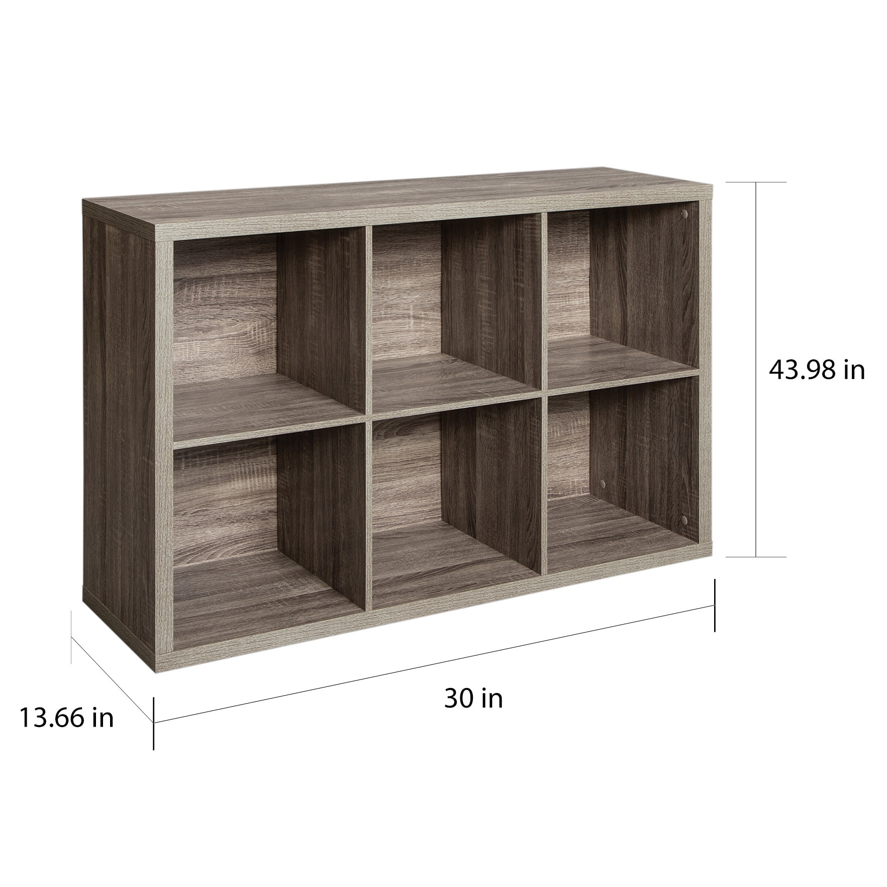 Beau Shop ClosetMaid Decorative Storage 6 Cube Organizer   Free Shipping Today    Overstock.com   16373950
