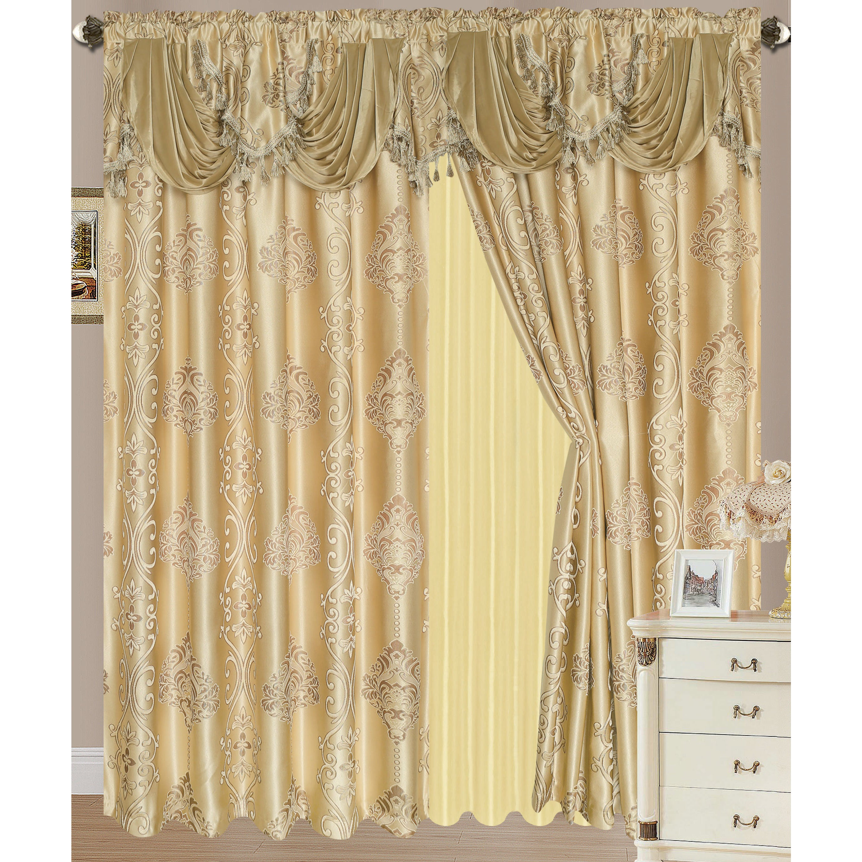 in blinds home window treatments rod curtain curtains source at shop single to rods hardware com project burnished decor bronze lowes pl