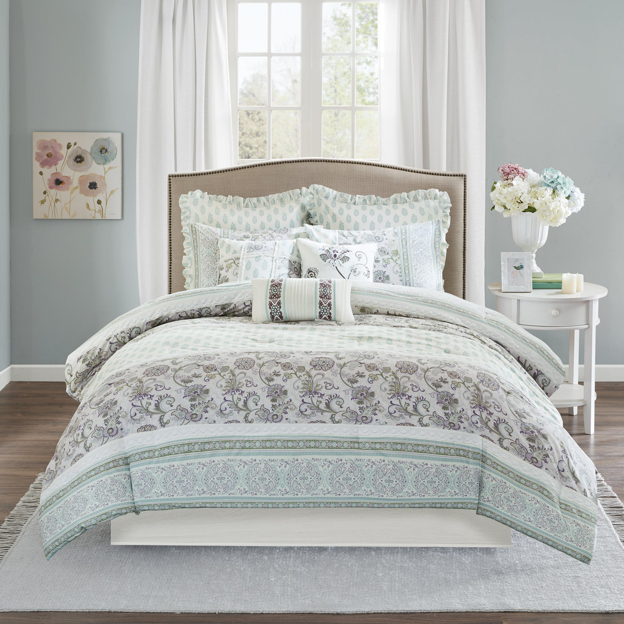 created for martha comforter lotus s piece medallion macy pin set bath stewart bed collection