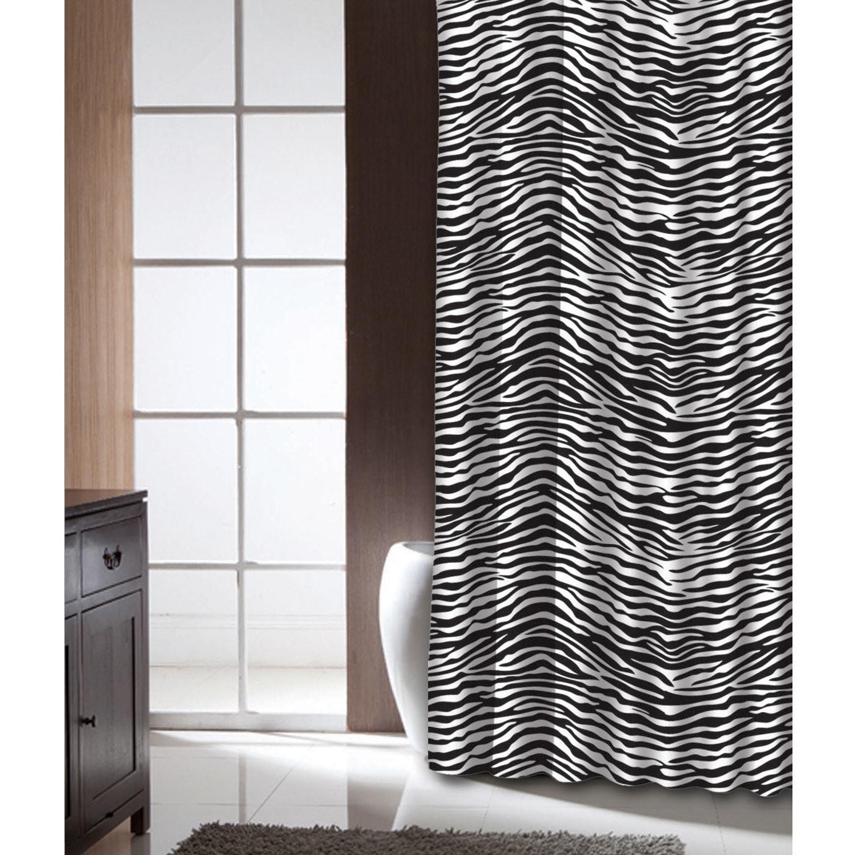 Shop Famous Home Zebra Shower Curtain