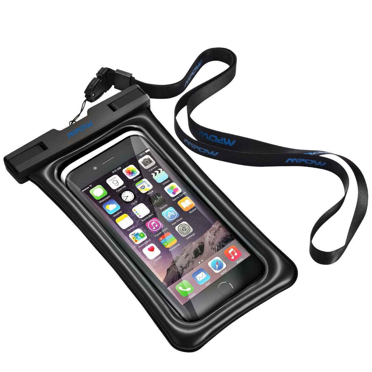 pretty nice 4c9cf 67ffe Mpow Floatable Waterproof Case, Dry Bag Cellphone Pouch for iPhone 7/ 7  Plus, Google Pixel, LG G6, Huawei P9/ P9 Plus, Galaxy S8