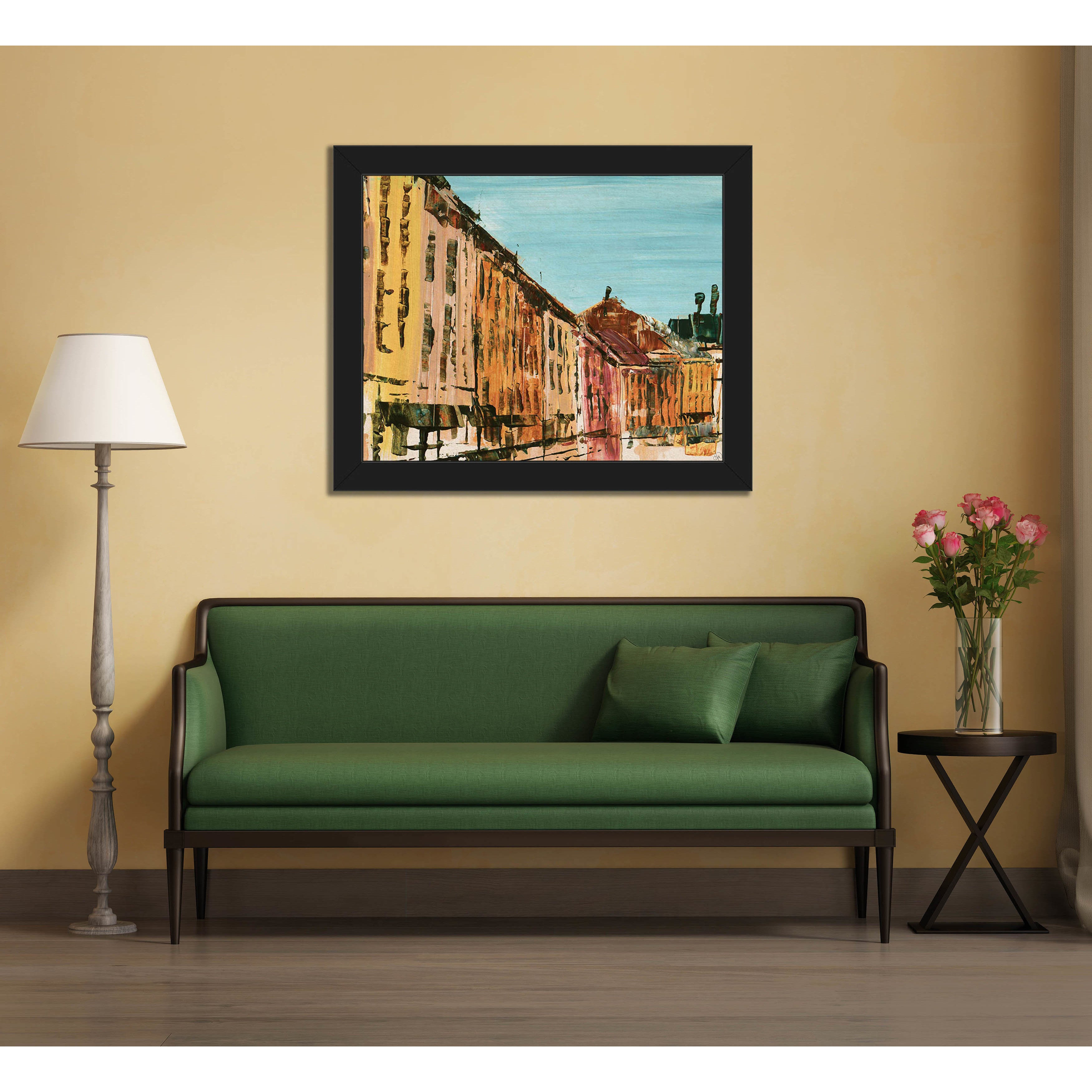 Shop Streets Of Montreal Framed Canvas Wall Art Print - Free ...