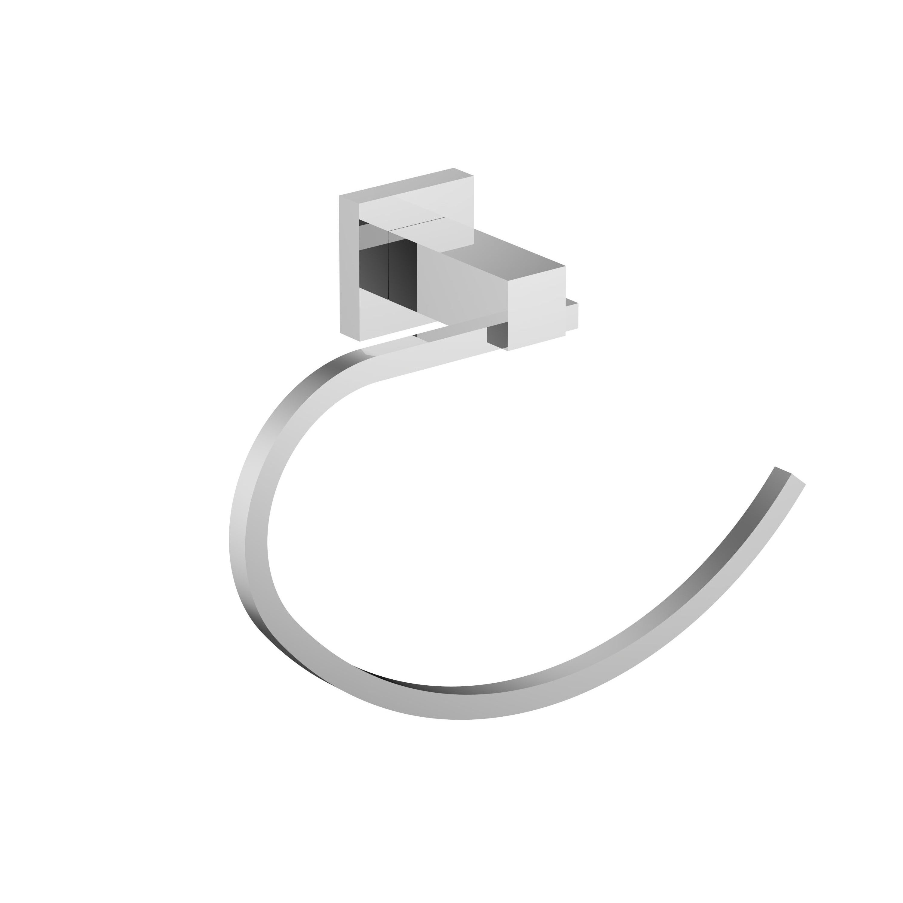 Attrayant Shop Eviva Holde Towel Holder (Chrome) Bathroom Accessories   Free Shipping  On Orders Over $45   Overstock   16394928