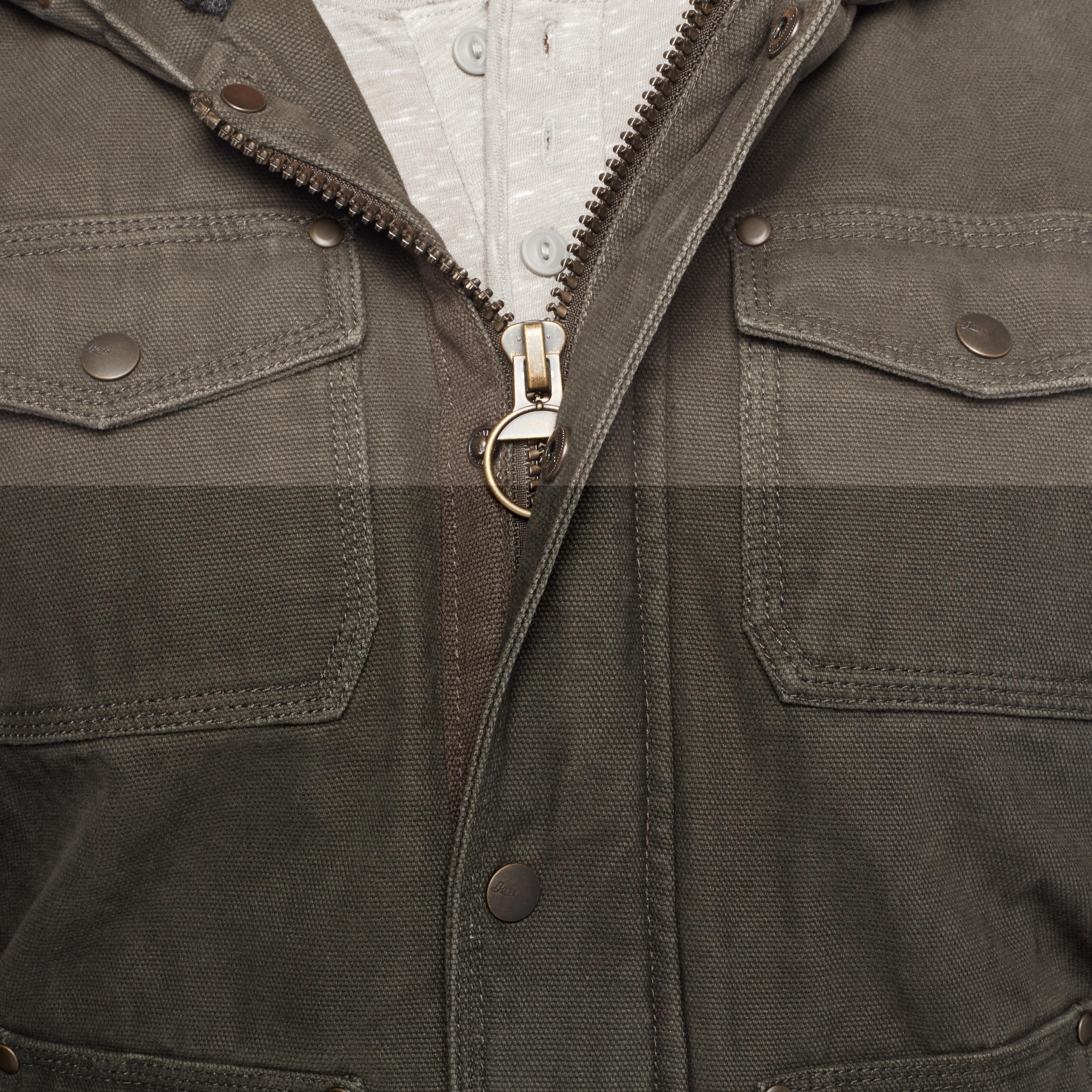 817ef3e53 GH Bass Men's Sherpa Lined Hoodie Jacket