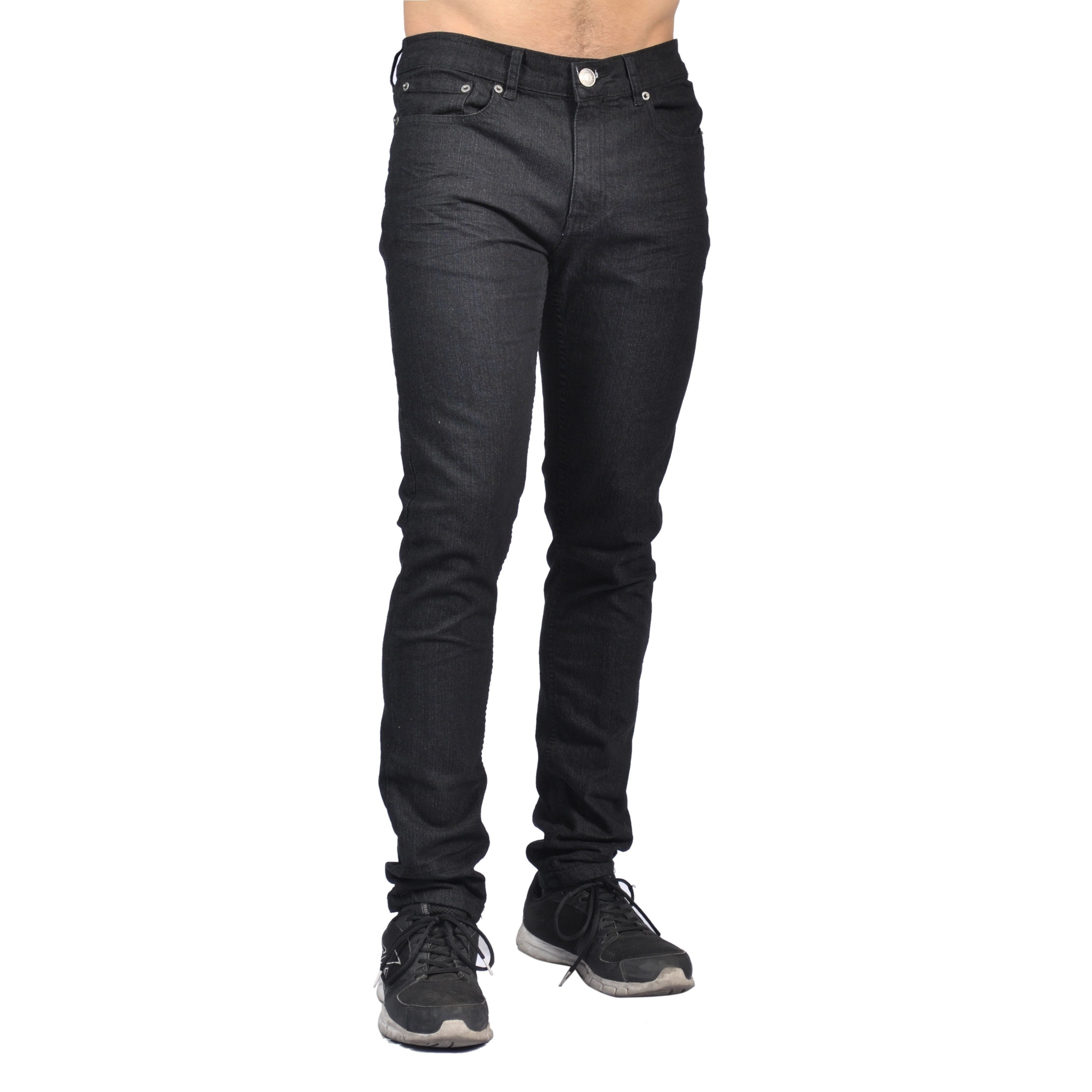 97b5b9419a78fd Indigo People Mens Slim Fit Denim Black Jeans - M. 46 Reviews. See All Top  Rated
