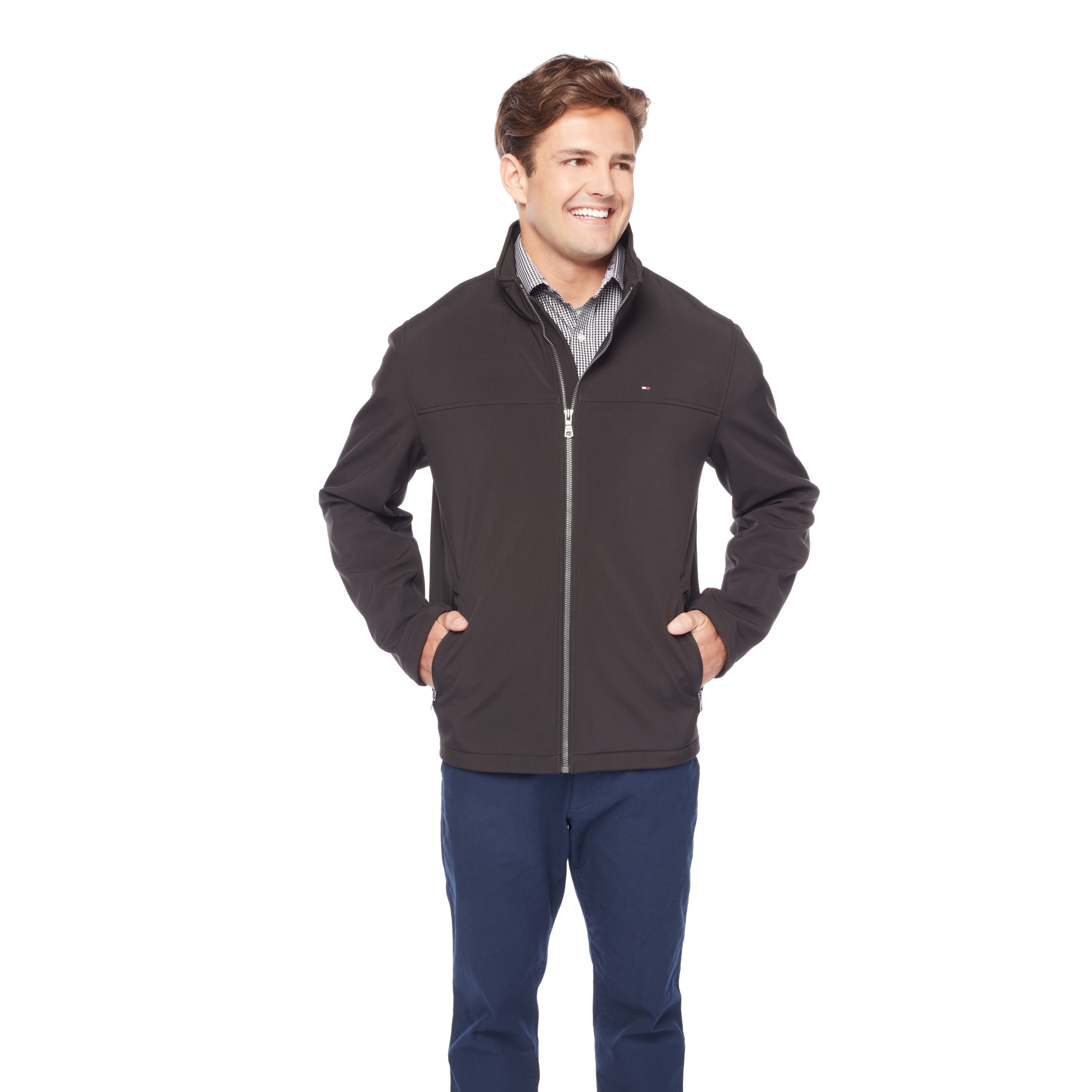 2f96d4862 Shop Tommy Hilfiger Men's Soft Shell Jacket - Free Shipping Today ...