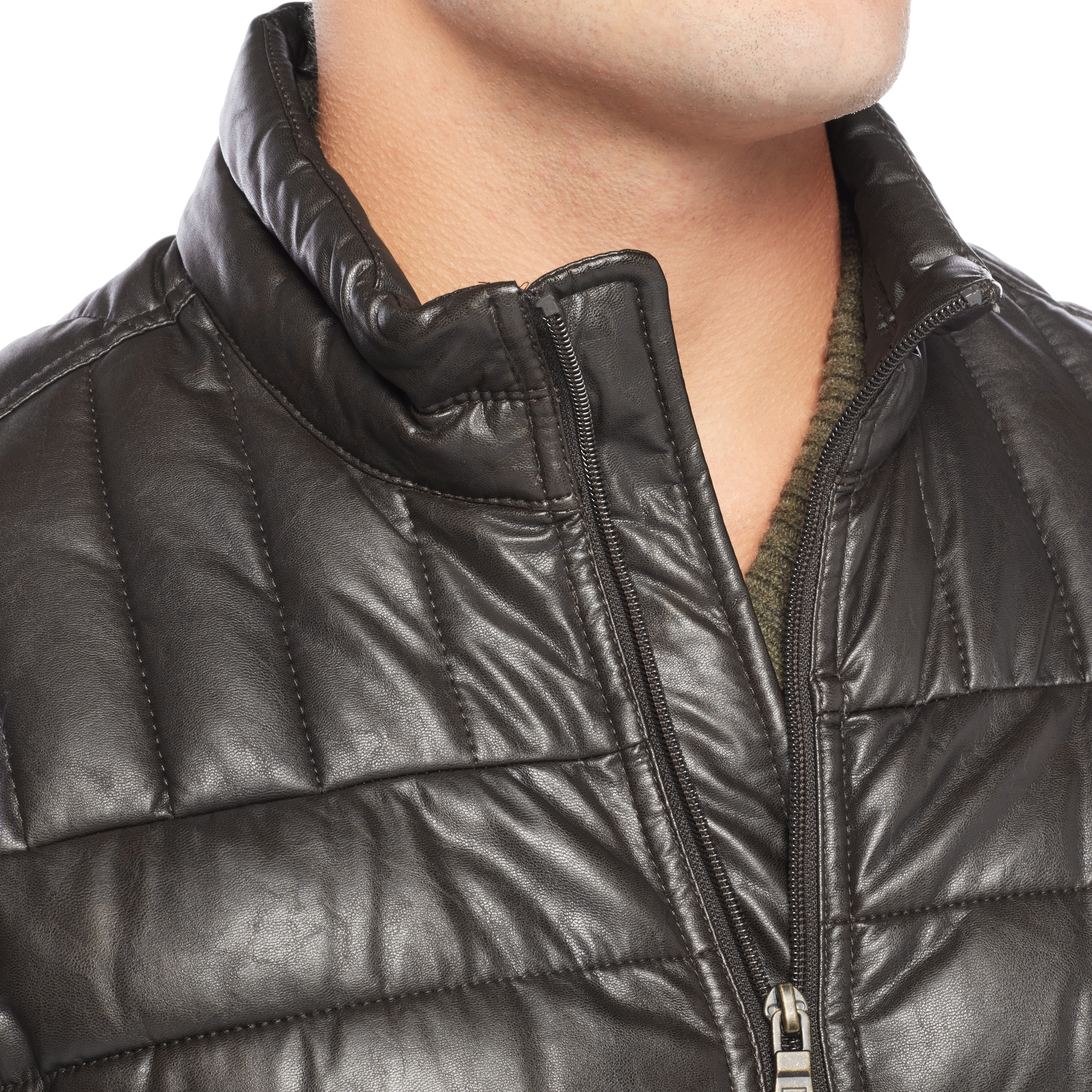 quilt side biker faux product black diamond leather women slim quilted fit for jacket michael new kay