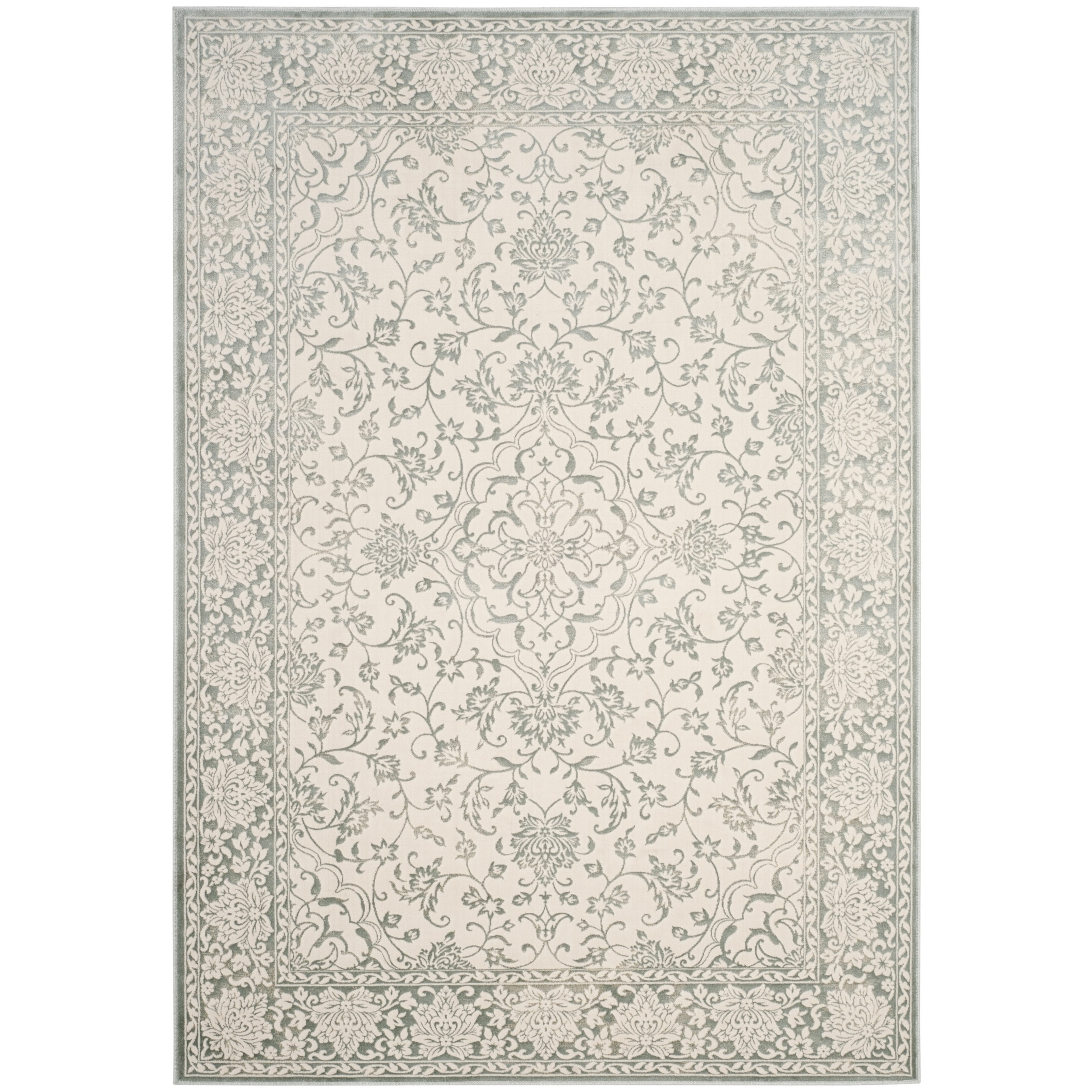 Safavieh Le Transitional Oriental Viscose Light Blue Ivory Area Rug 5 1 X 7 6 On Free Shipping Today Com 16410656