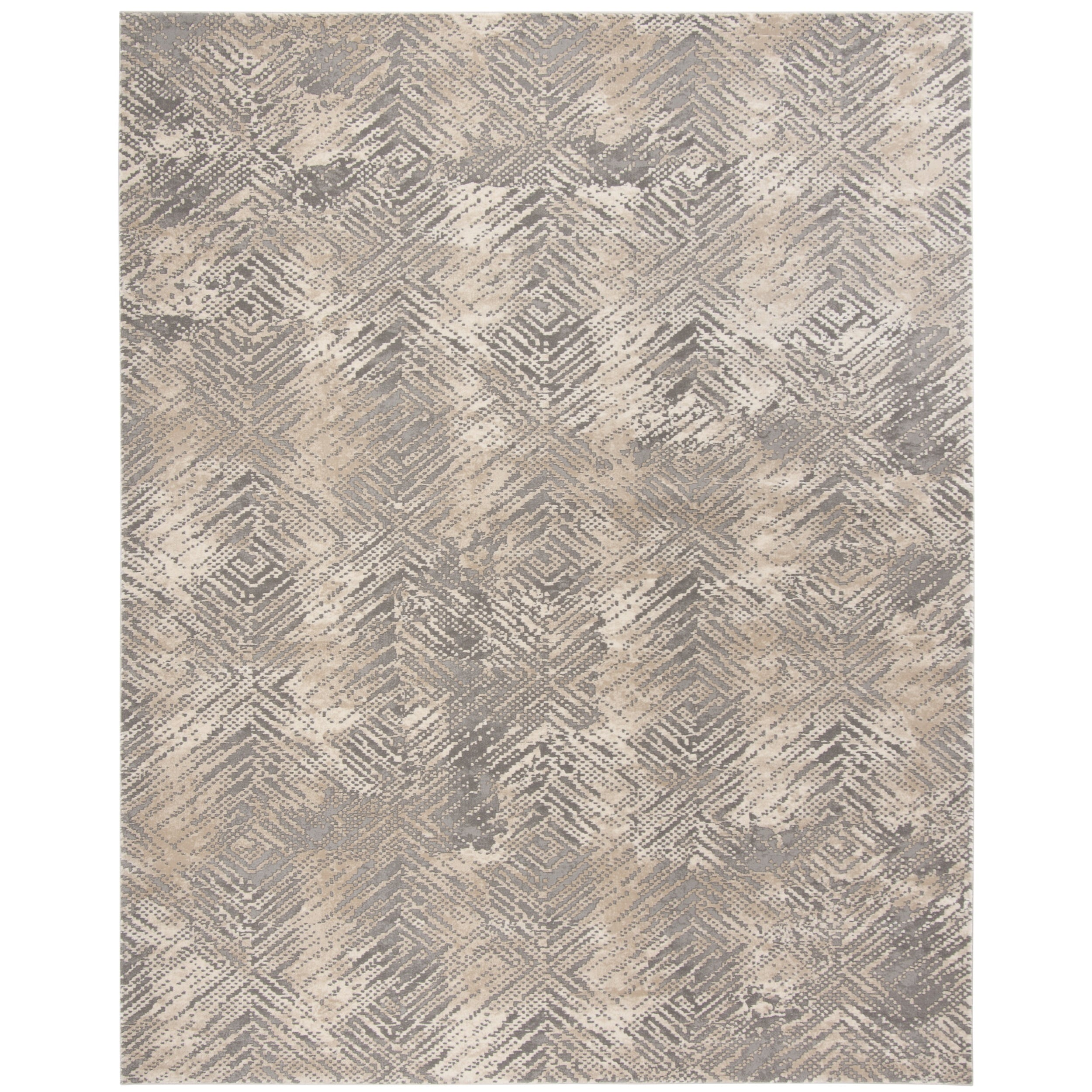 polyester grey elegant safavieh beautiful and light x of buyaustinhome reflection cream area rug pictures
