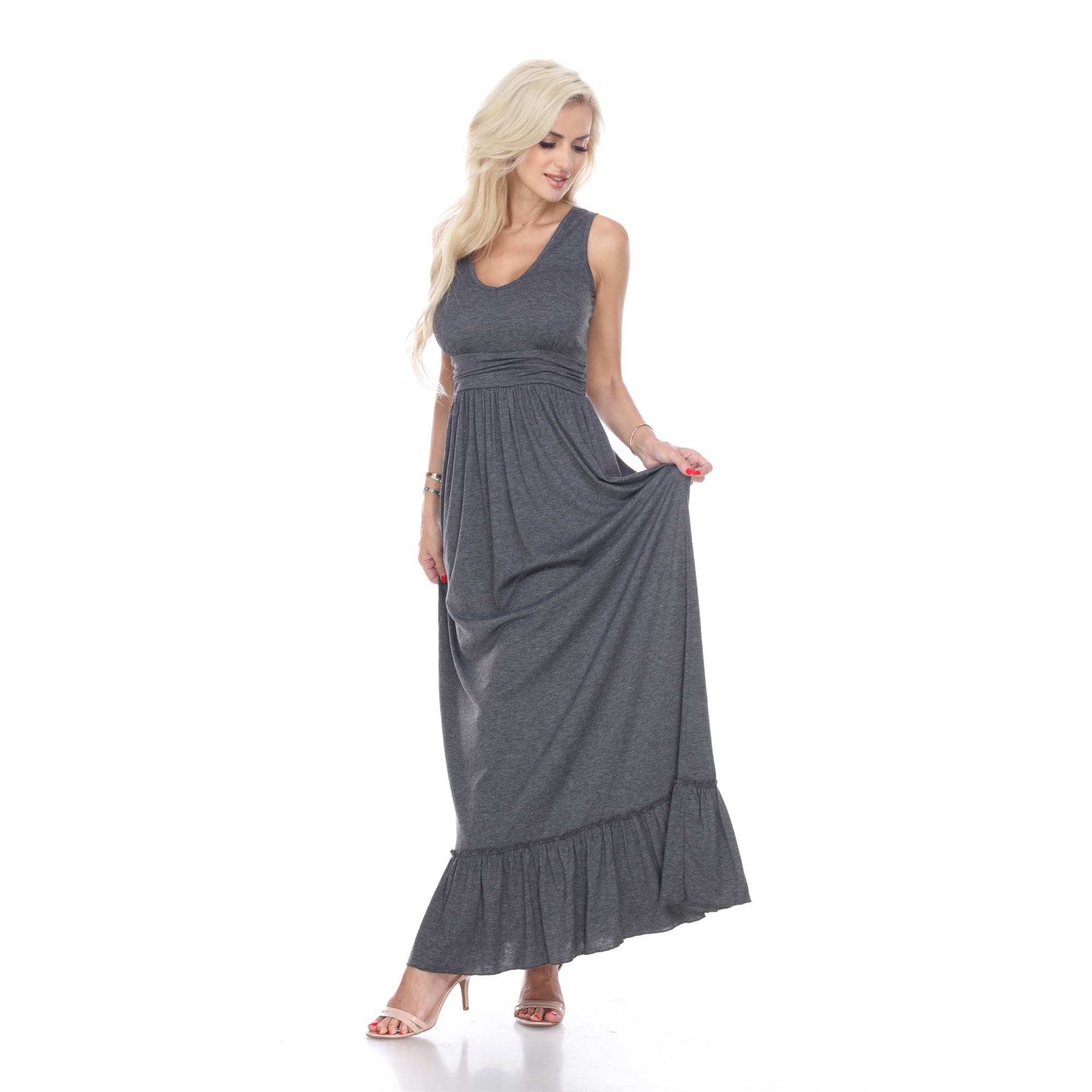 4080340b365c Shop White Mark Women's Medina Maxi Dress - Free Shipping On Orders Over  $45 - Overstock - 16413265
