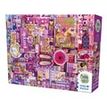 Cobble Hill All Things Purple Puzzle - 1,000 Pieces