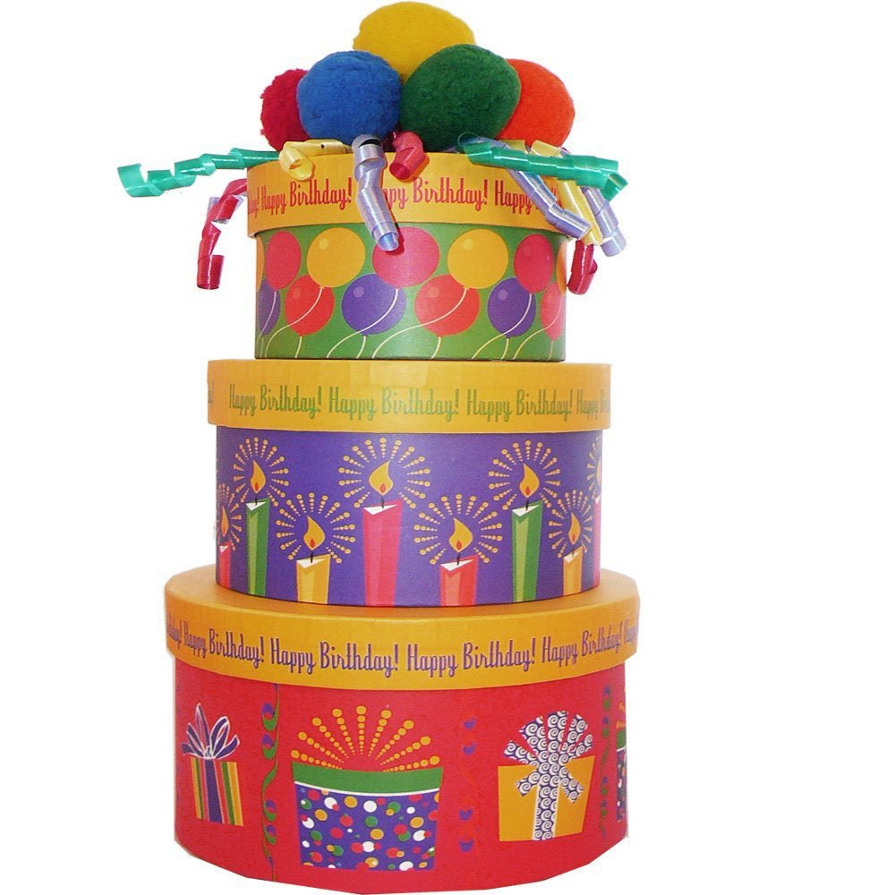 Shop Happy Birthday To You Snacks And Treats Gift Tower