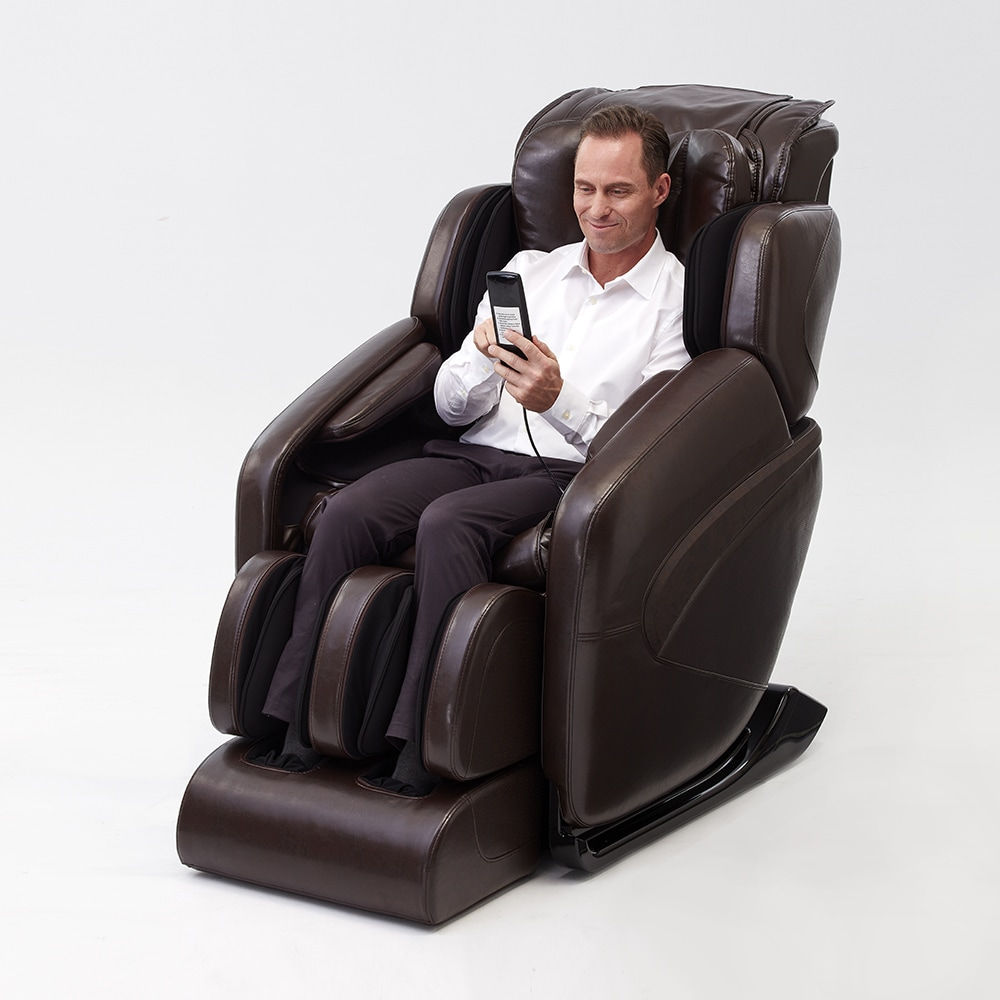 Shop Inner Balance Wellness Jin Deluxe Zero Gravity L Track Massage Chair    Free Shipping Today   Overstock.com   16431429