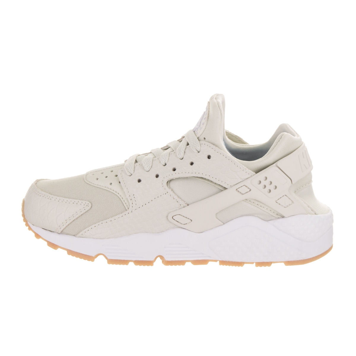 fa181ab265986 Shop Nike Women s Huarache Run SE Light Bone Canvas Running Shoe - Free  Shipping Today - Overstock - 16431859