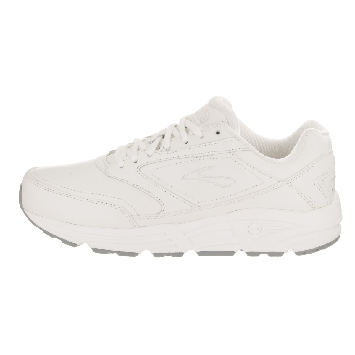 1c906830cf0 Shop Brooks Men s Addiction Walker 2E White Leather Running Shoes - Free  Shipping Today - Overstock - 16432010