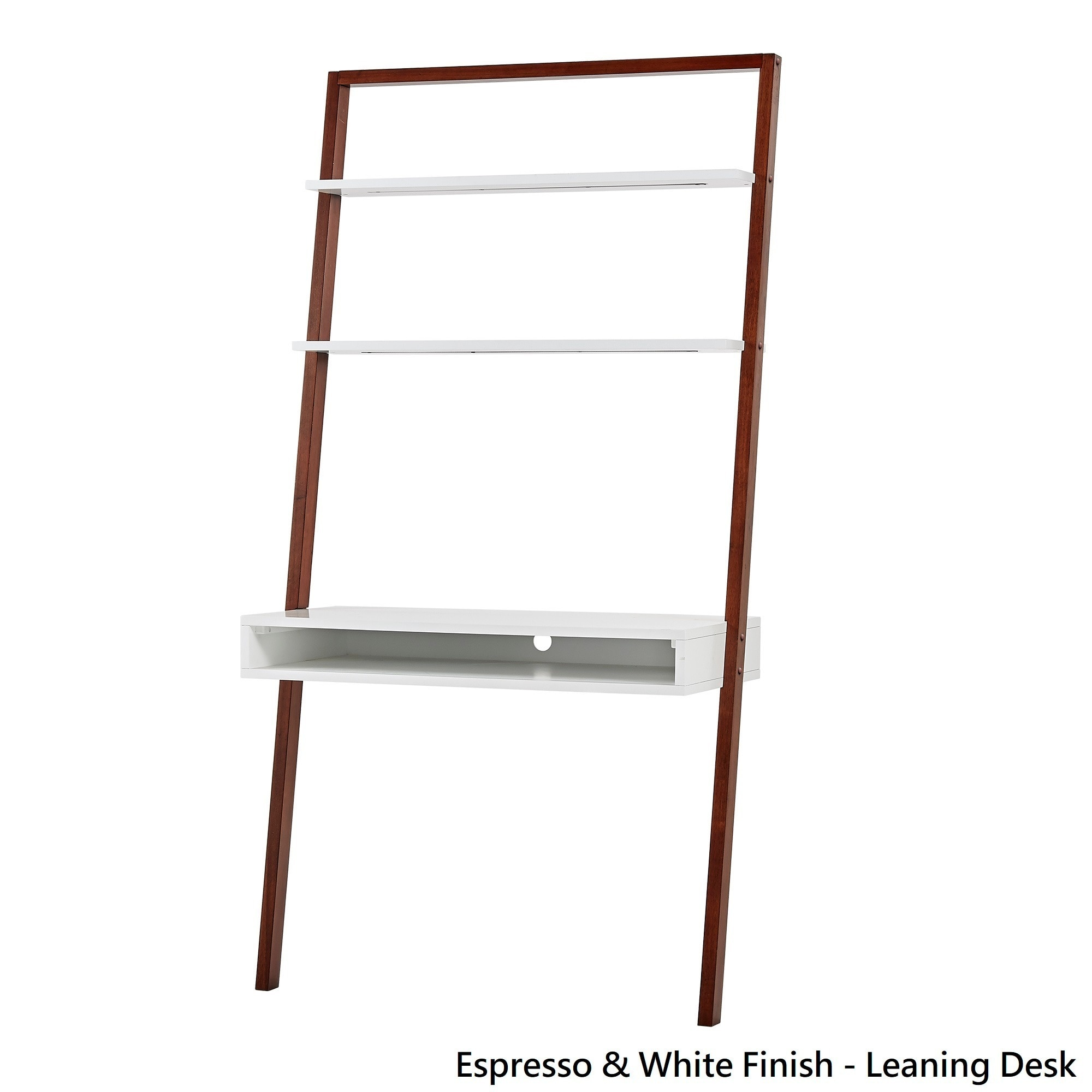 Shop Ranell Leaning Desk Ladder Shelves By Inspire Q Modern On