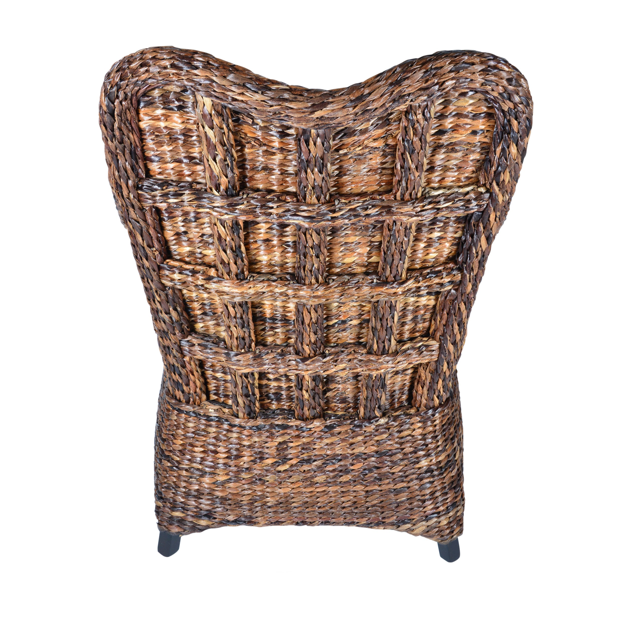 Shop Handmade Boracay Brown Heart Shaped Wingback Chair (Philippines)    Free Shipping Today   Overstock.com   16492050