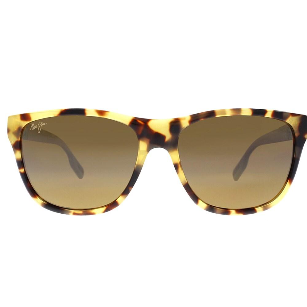 05b63097d6c3 Shop Maui Jim Maui 734 10L Howzit Tokyo Tortoise Plastic Square Sunglasses  HCL Bronze Polarized Lens - Free Shipping Today - Overstock - 16512771